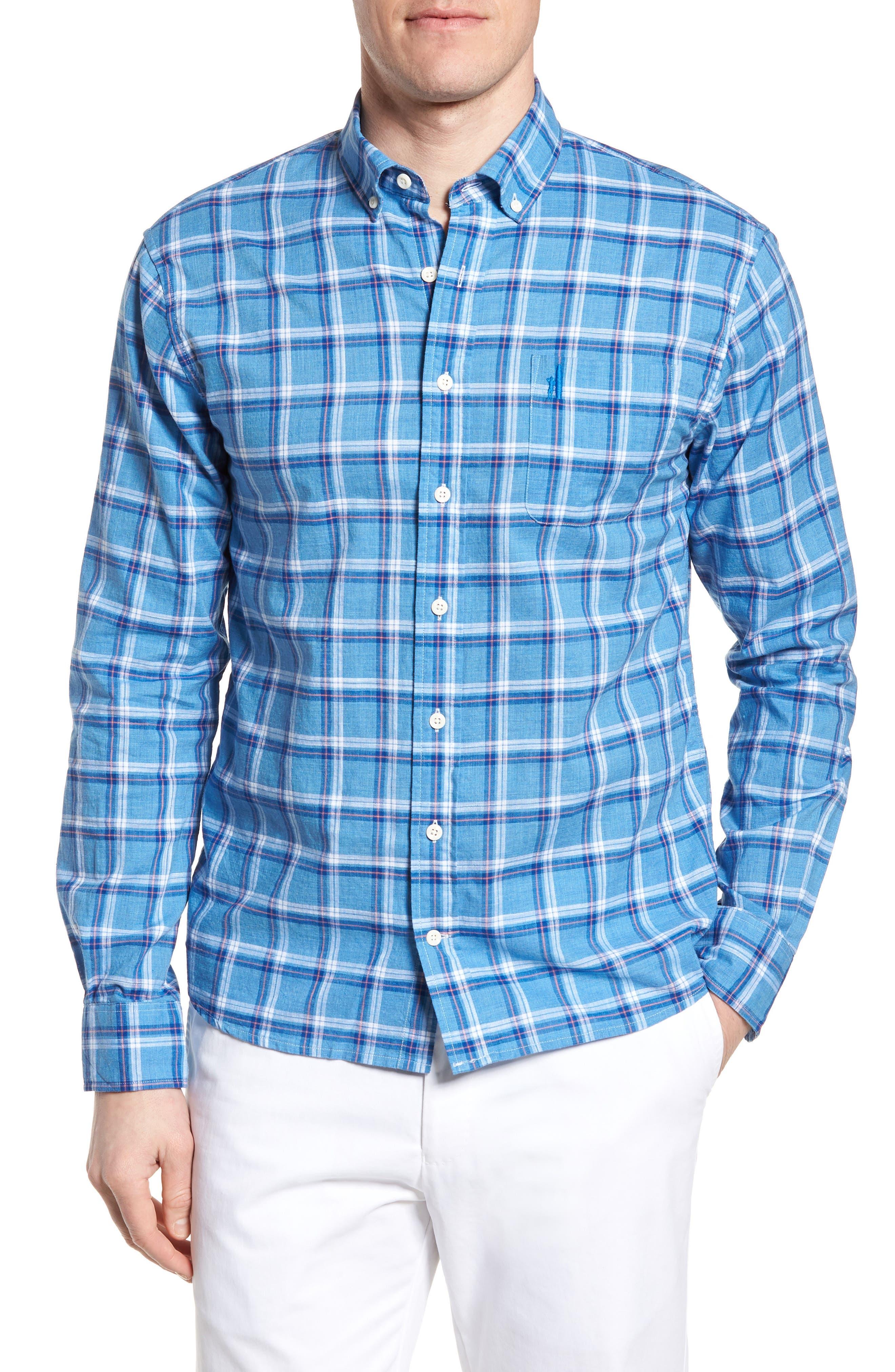 Davis Regular Fit Sport Shirt,                             Main thumbnail 1, color,                             200