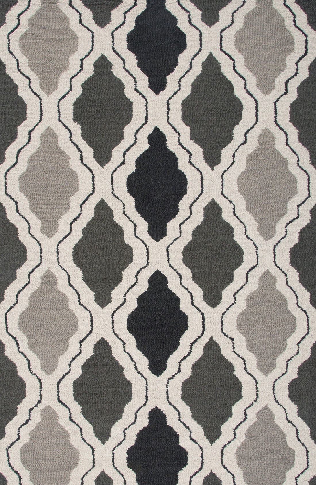 'Ogee' Wool Area Rug,                         Main,                         color, 030