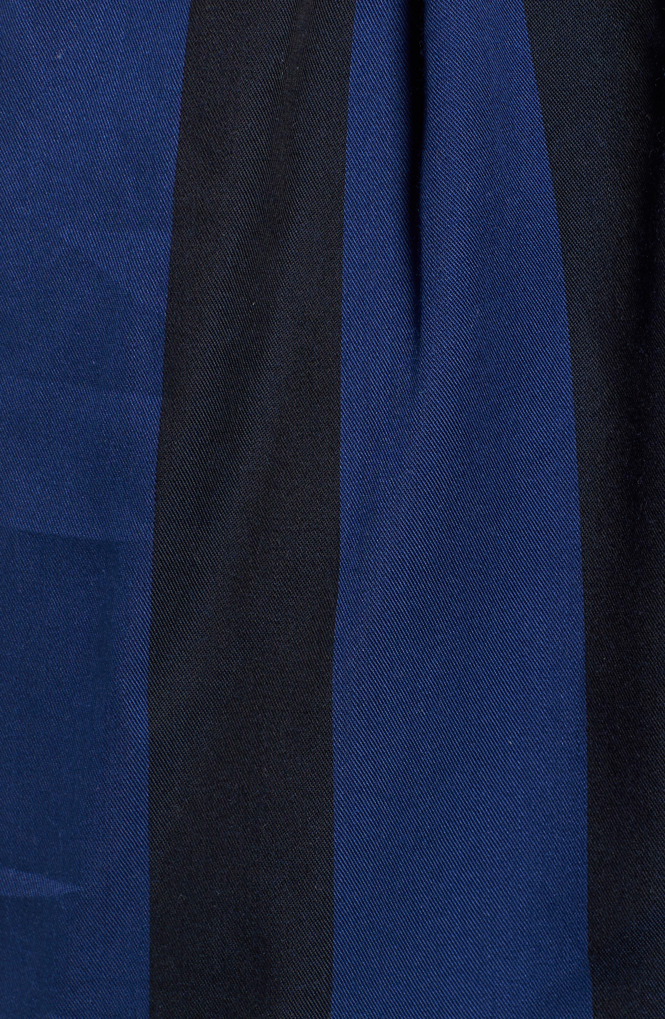 Keigo Broad Stripe Shorts,                             Alternate thumbnail 5, color,                             COBALT