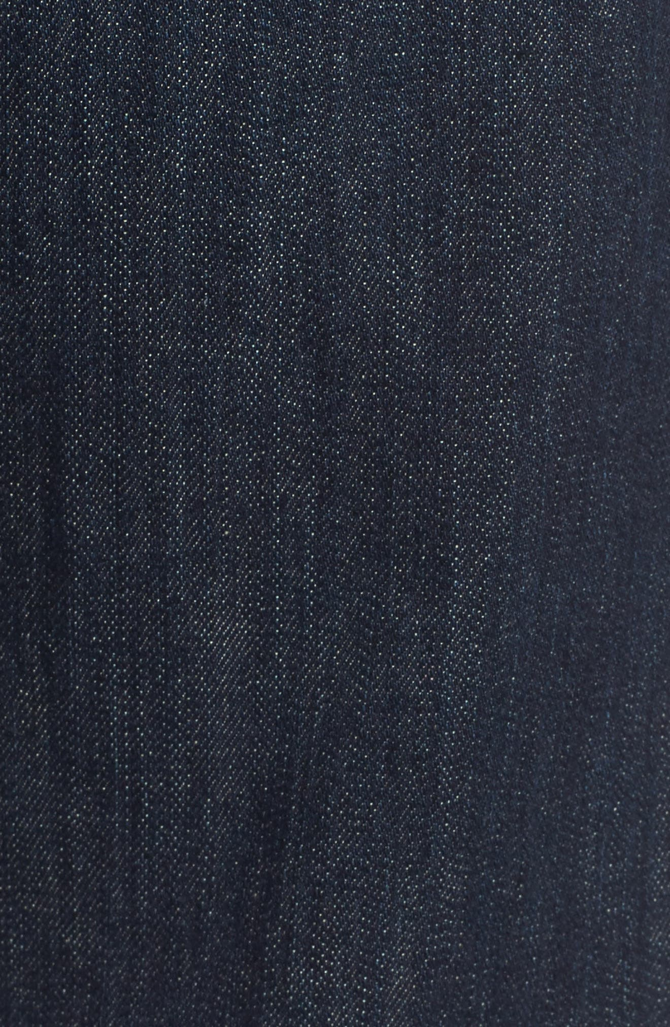 'Protégé' Straight Leg Jeans,                             Alternate thumbnail 5, color,                             016