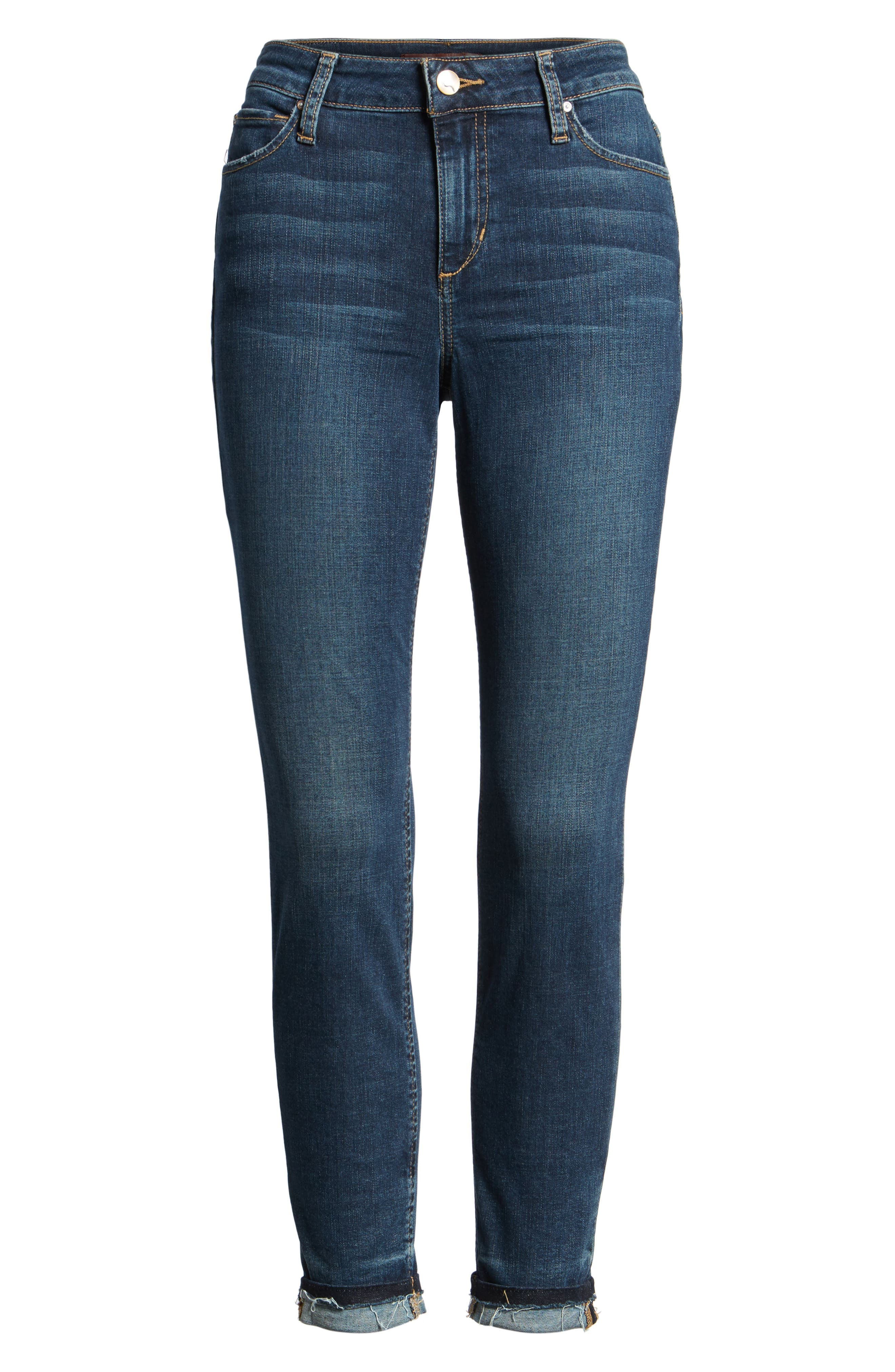 Markie High Rise Crop Skinny Jeans,                             Alternate thumbnail 6, color,