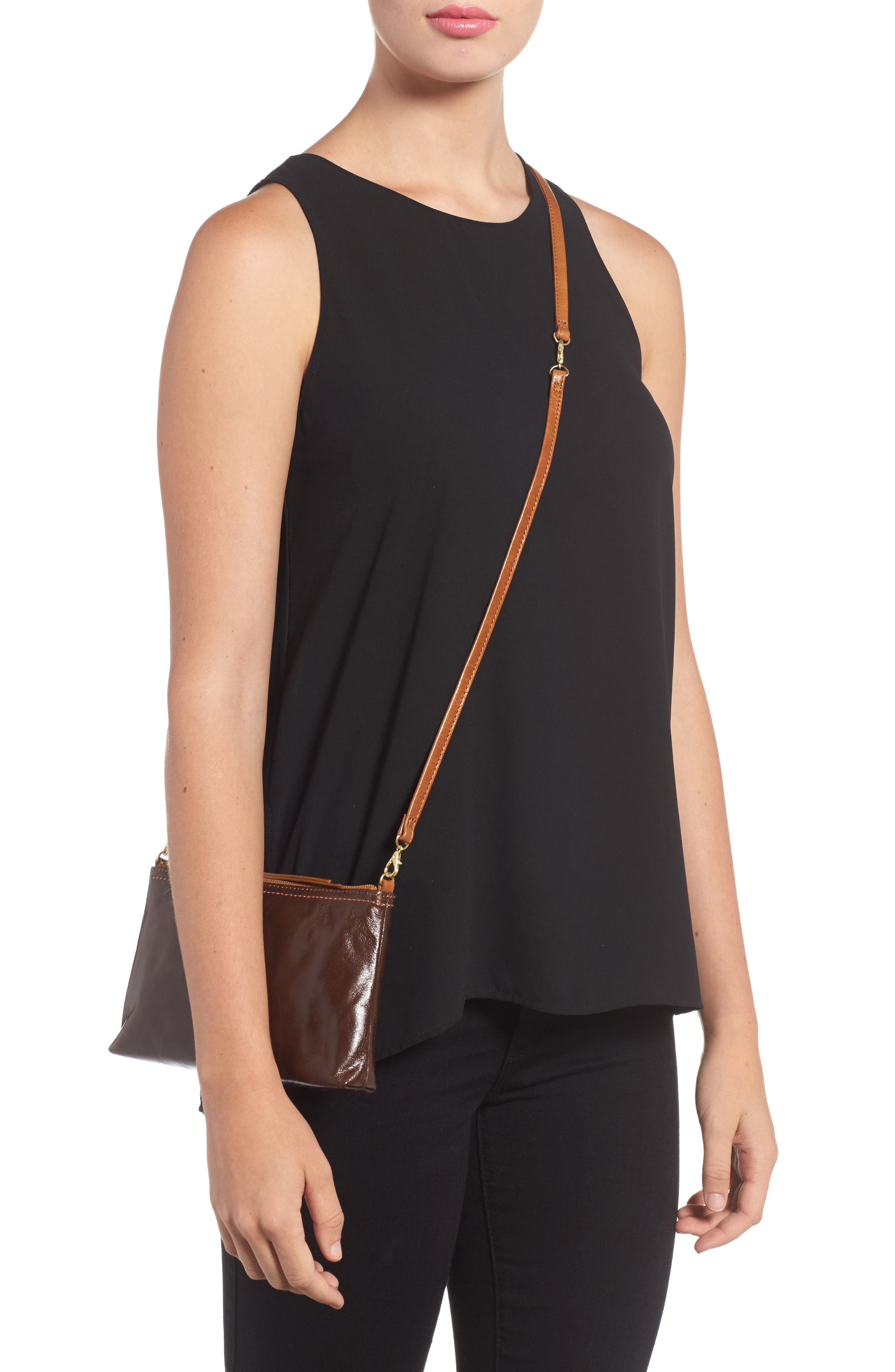 'Darcy' Leather Crossbody Bag,                             Alternate thumbnail 43, color,