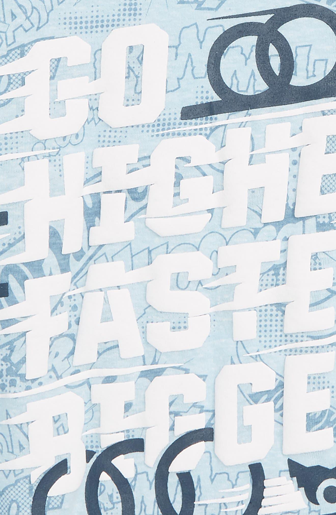 Hot Wheels Graphic T-Shirt,                             Alternate thumbnail 2, color,                             BLUE MULTI