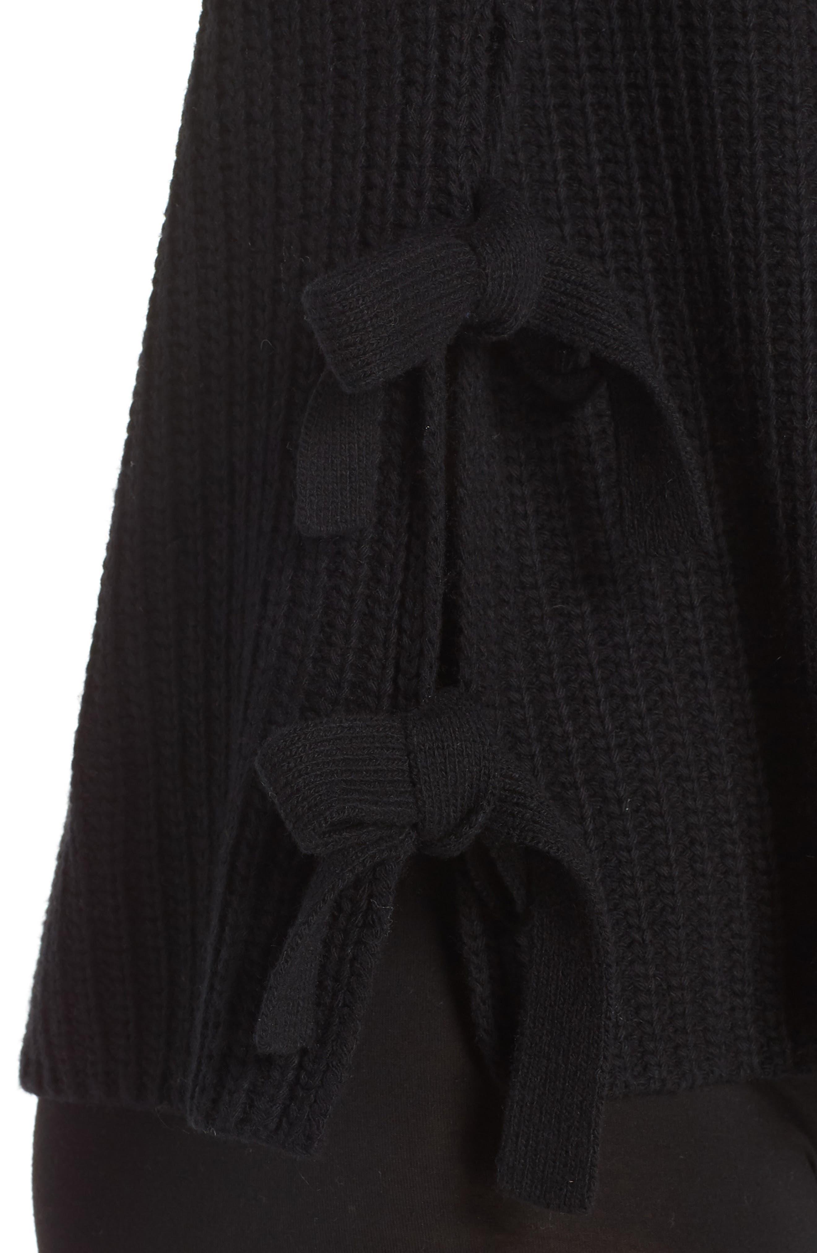 Ceanne Turtleneck Sweater,                             Alternate thumbnail 4, color,                             001