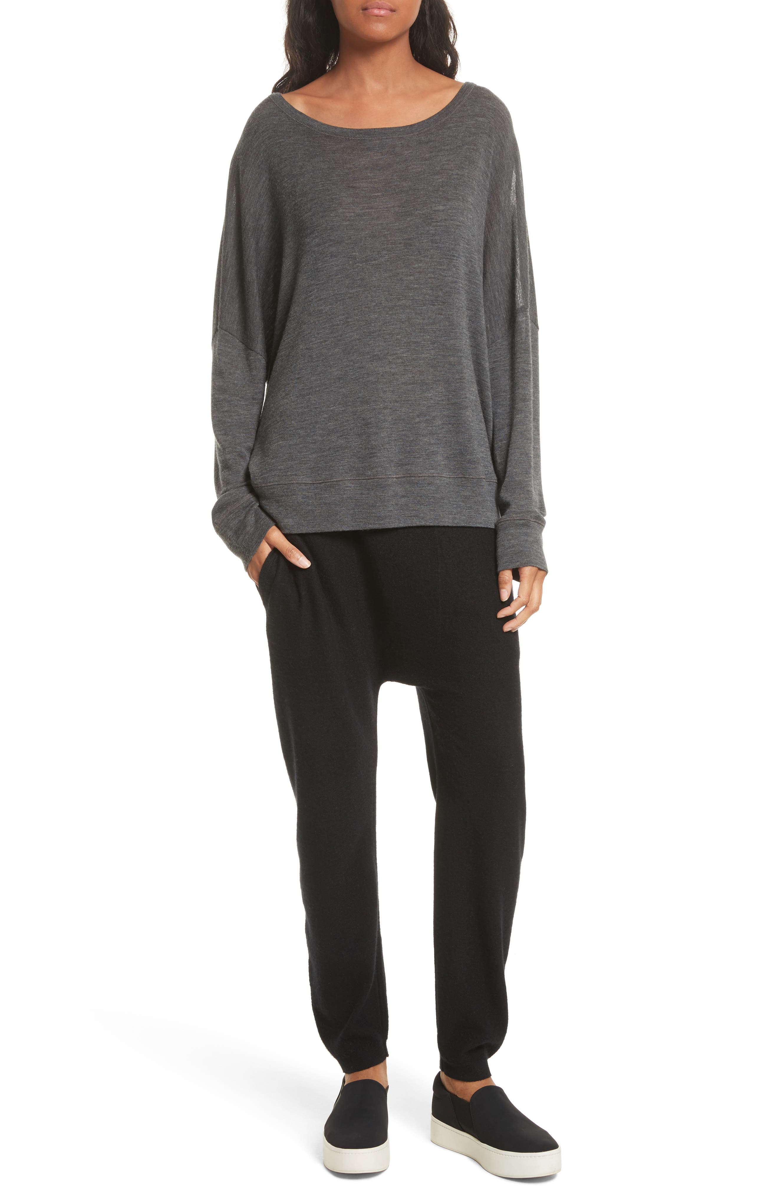 Wool Pullover,                             Alternate thumbnail 7, color,                             033