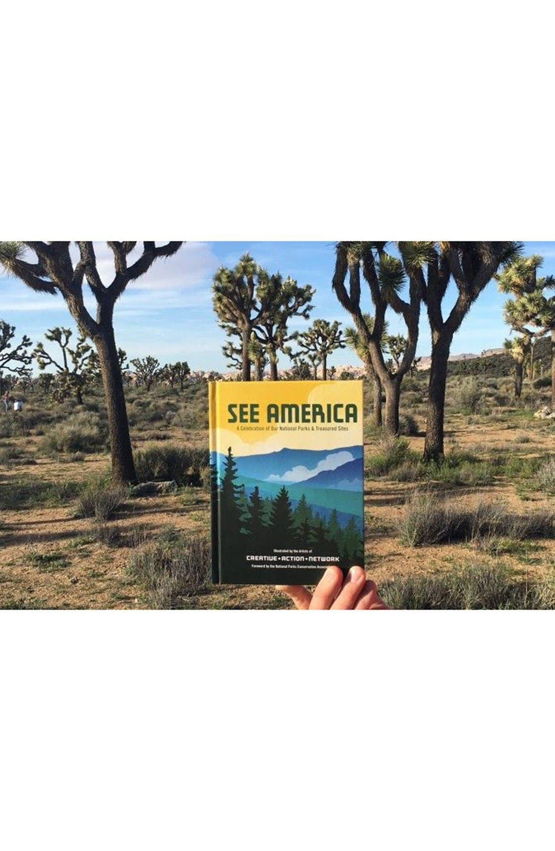 'See America - A Celebration of Our National Parks & Treasured Sites' Book,                             Alternate thumbnail 5, color,