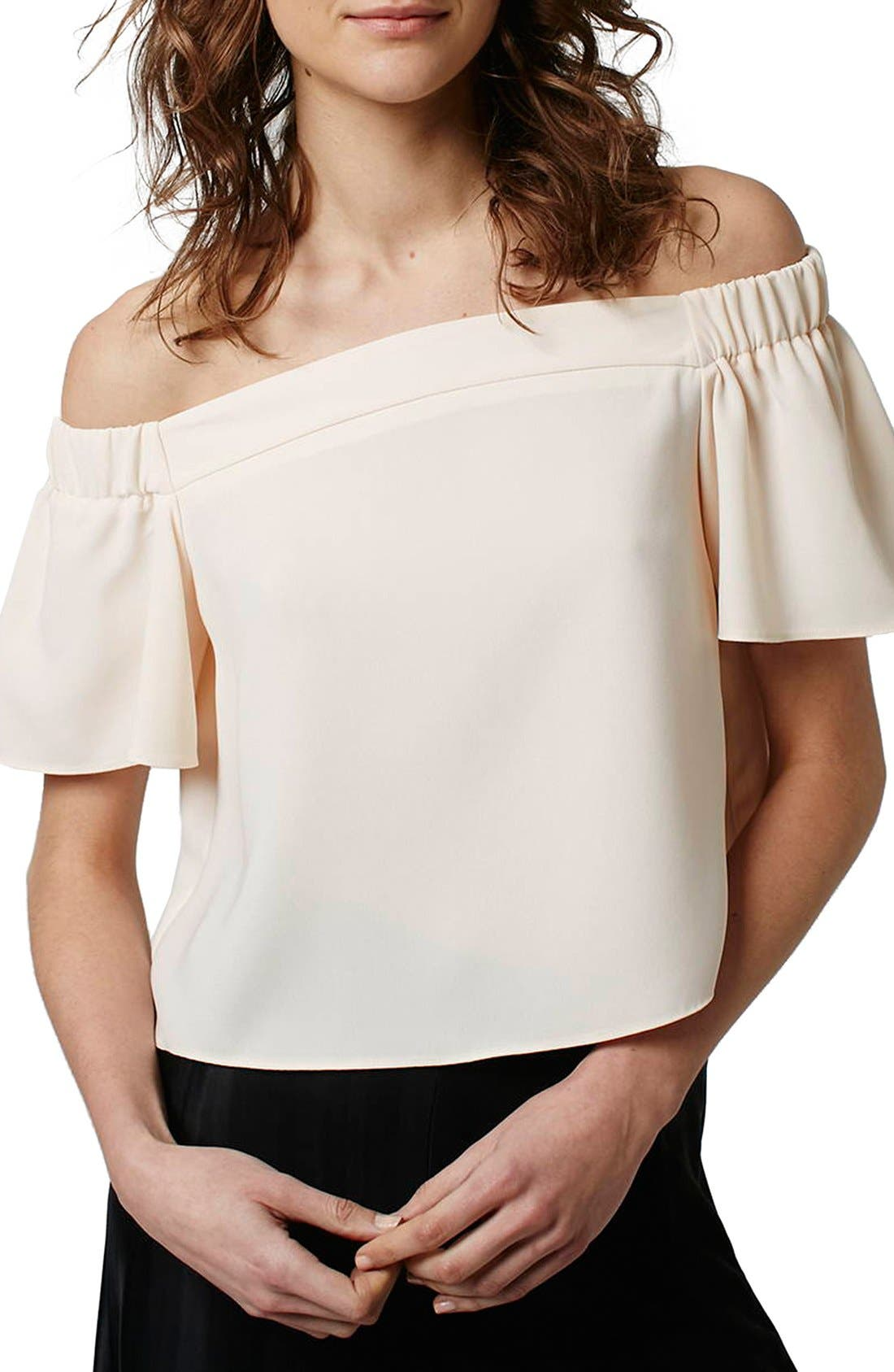 'Livi' Off the Shoulder Top,                             Main thumbnail 8, color,
