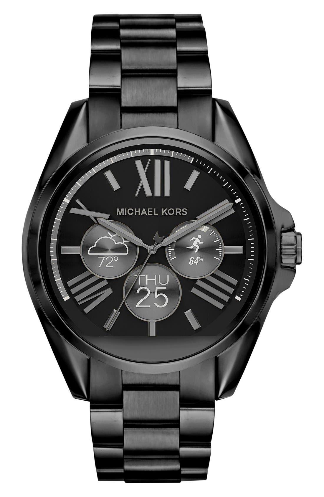 MICHAEL Michael Kors Bradshaw Access Bracelet Smart Watch, 45mm,                             Alternate thumbnail 35, color,