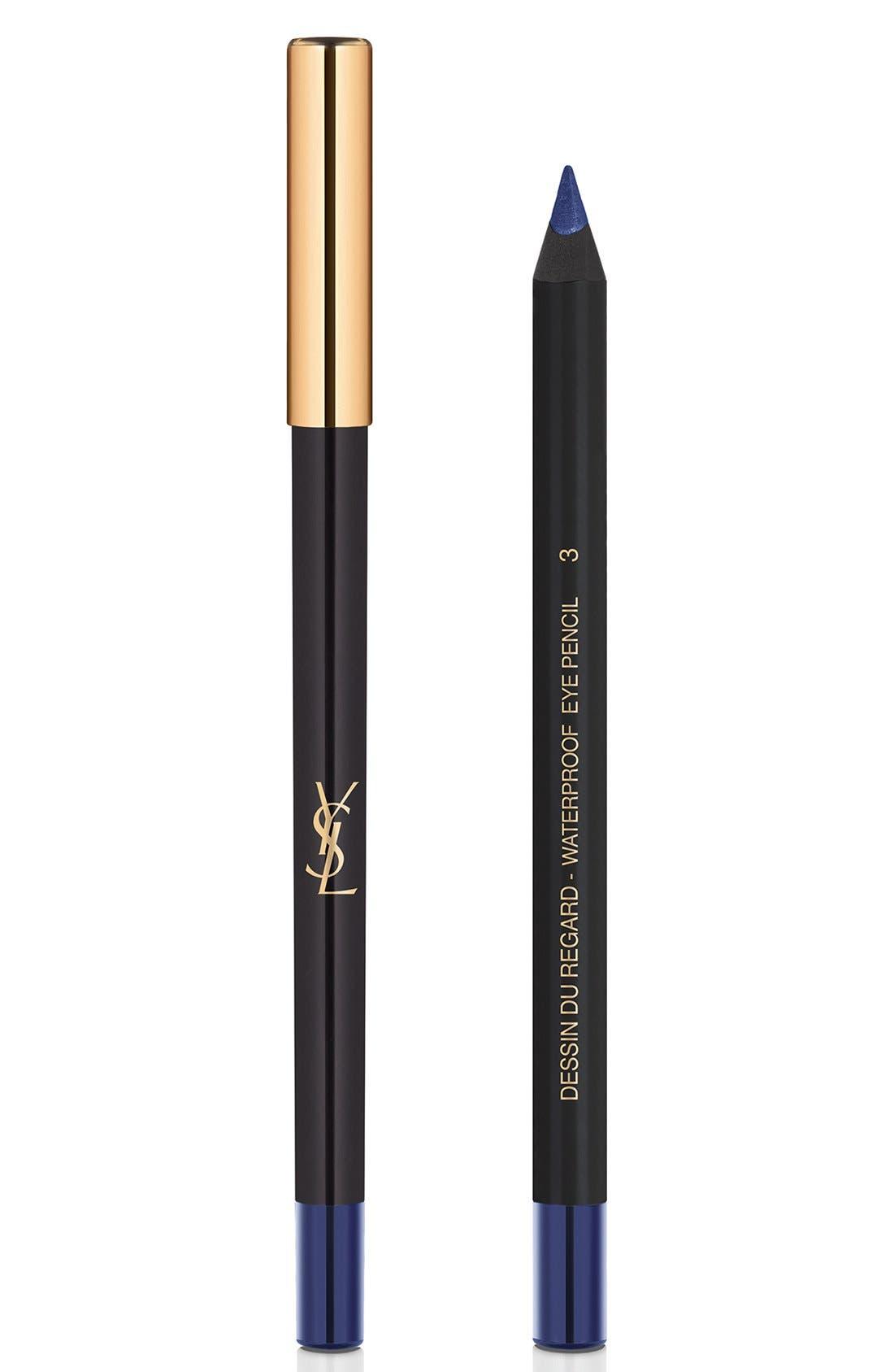 Yves Saint Laurent Dessin Du Regard Waterproof Eyeliner Pencil - 03 Blue