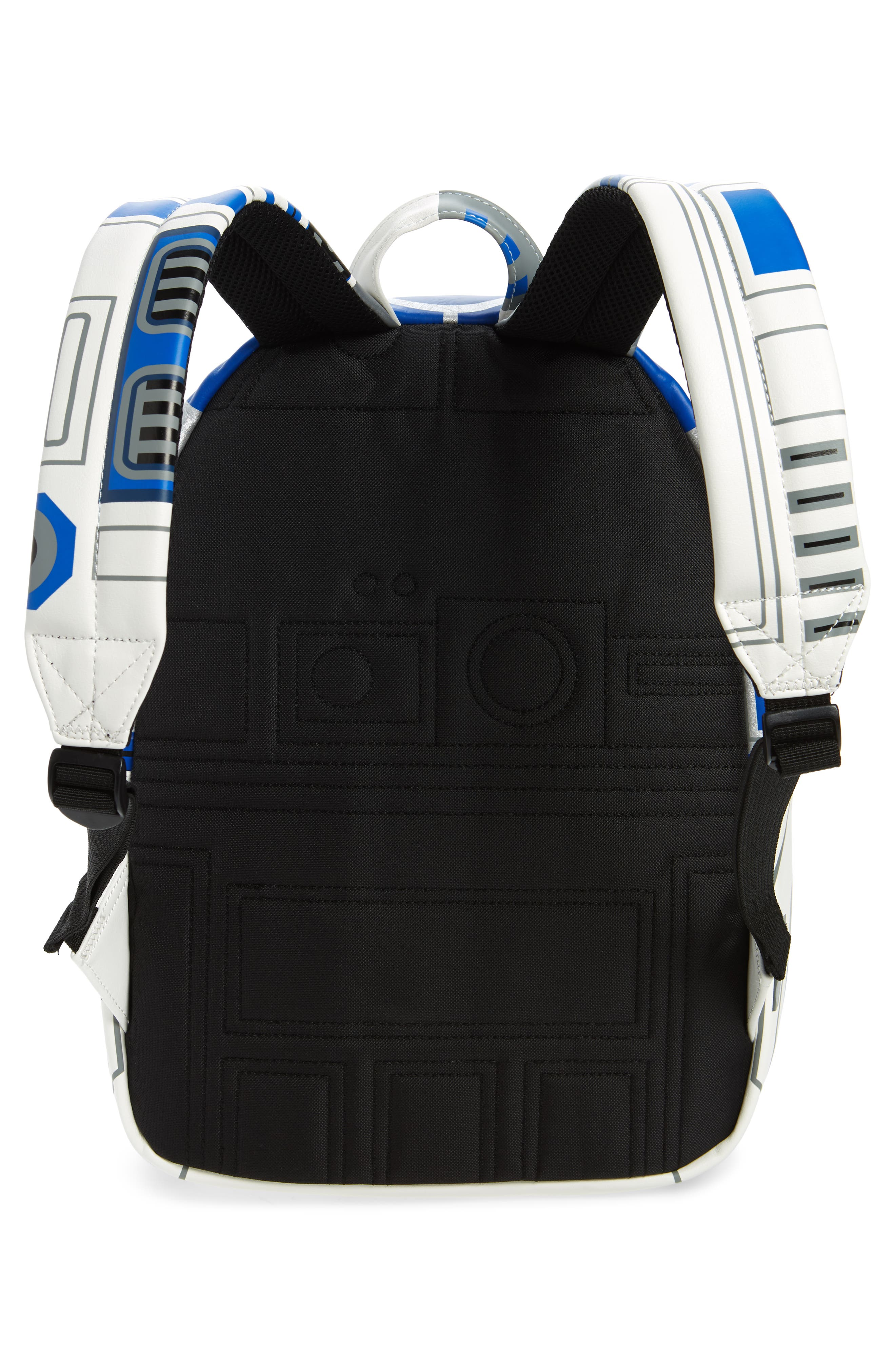 x Star Wars R2-D2 Faux Leather Backpack,                             Alternate thumbnail 2, color,                             040