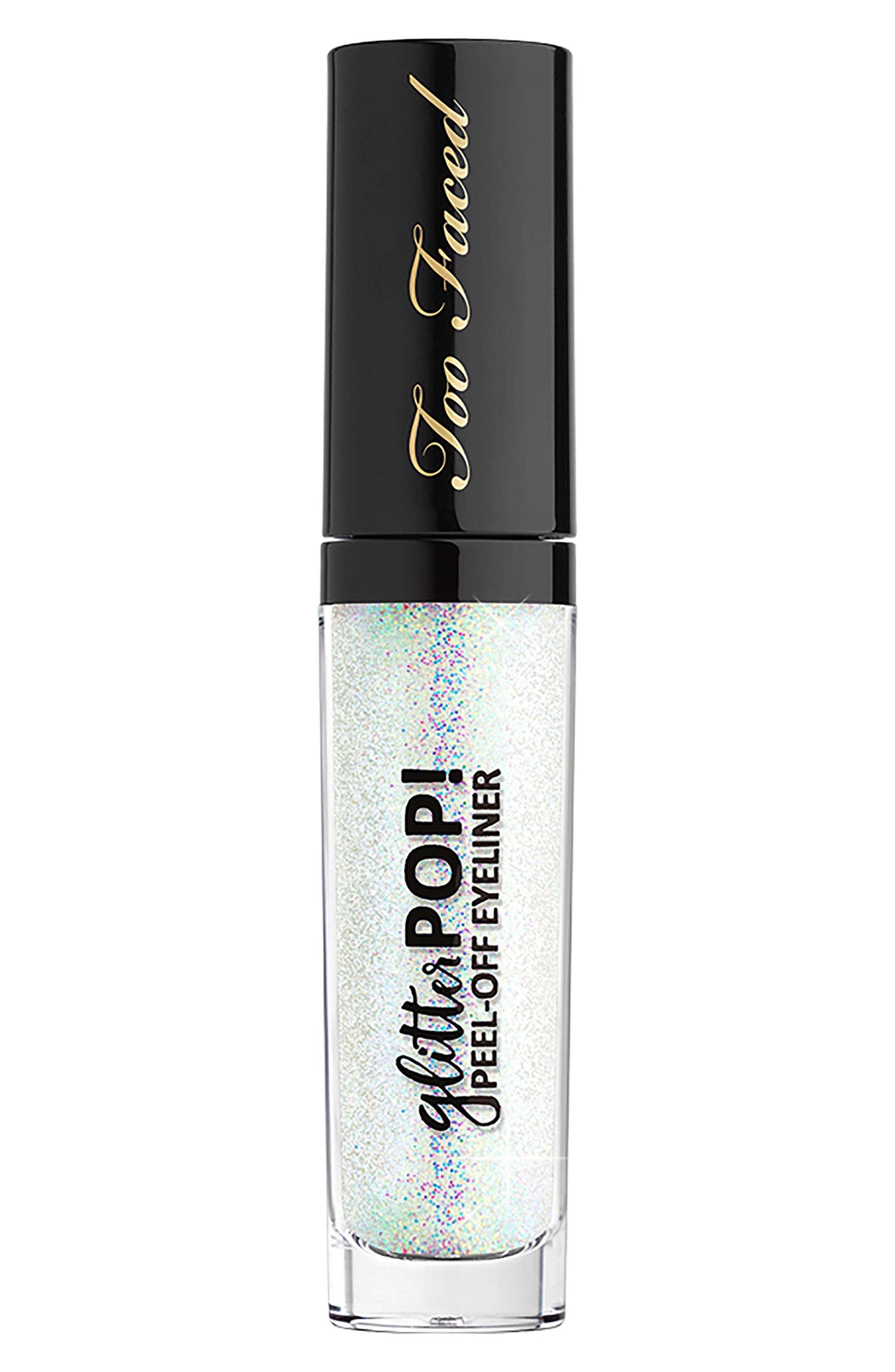 Glitter Pop! Peel-Off Eyeliner Glitter Ghost .23 Oz/ 6.5 G