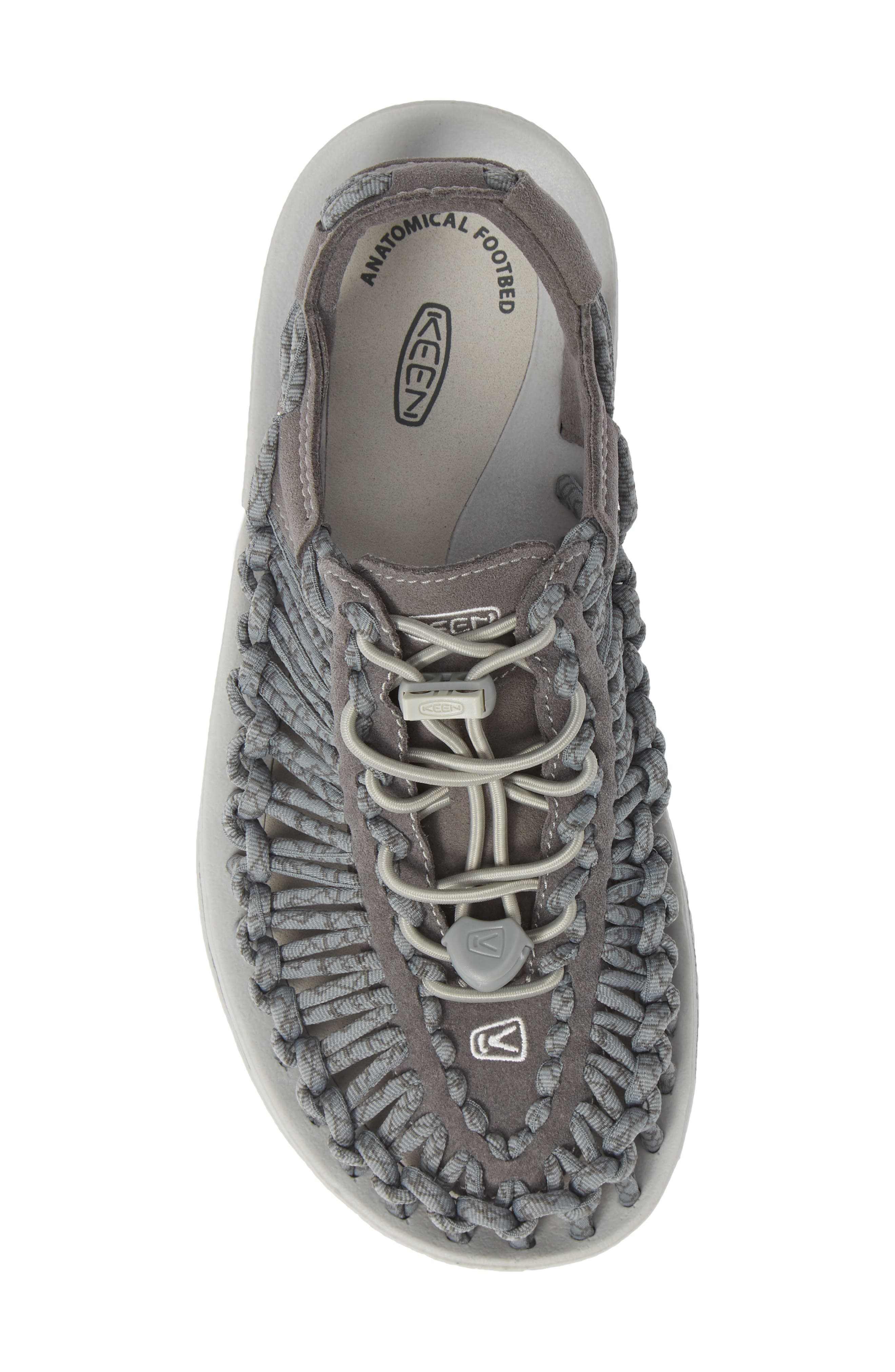 'Uneek' Water Sneaker,                             Alternate thumbnail 5, color,                             NEUTRAL GRAY/ GARGOYLE