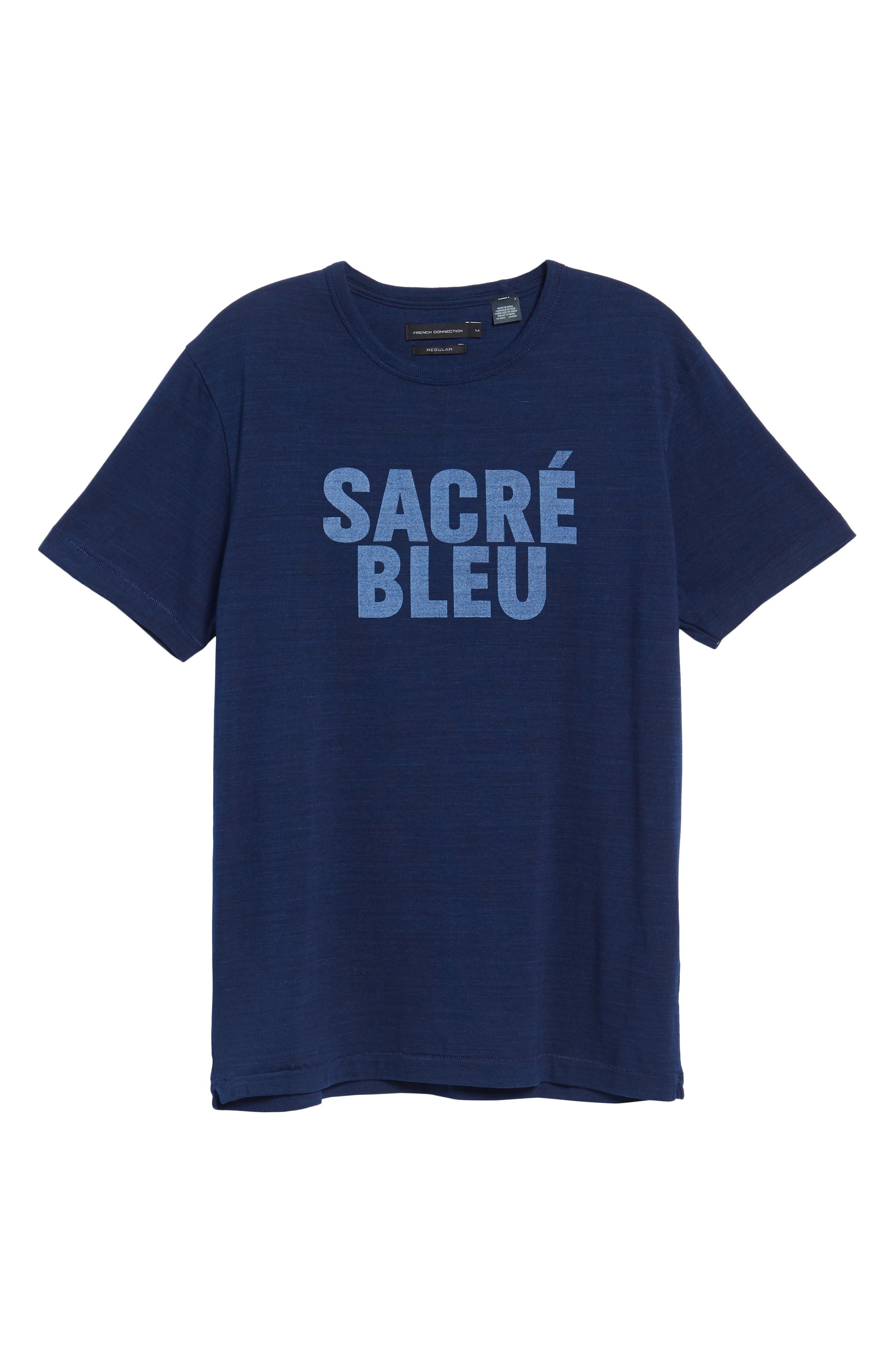 Sacré Bleu Graphic T-Shirt,                             Alternate thumbnail 12, color,