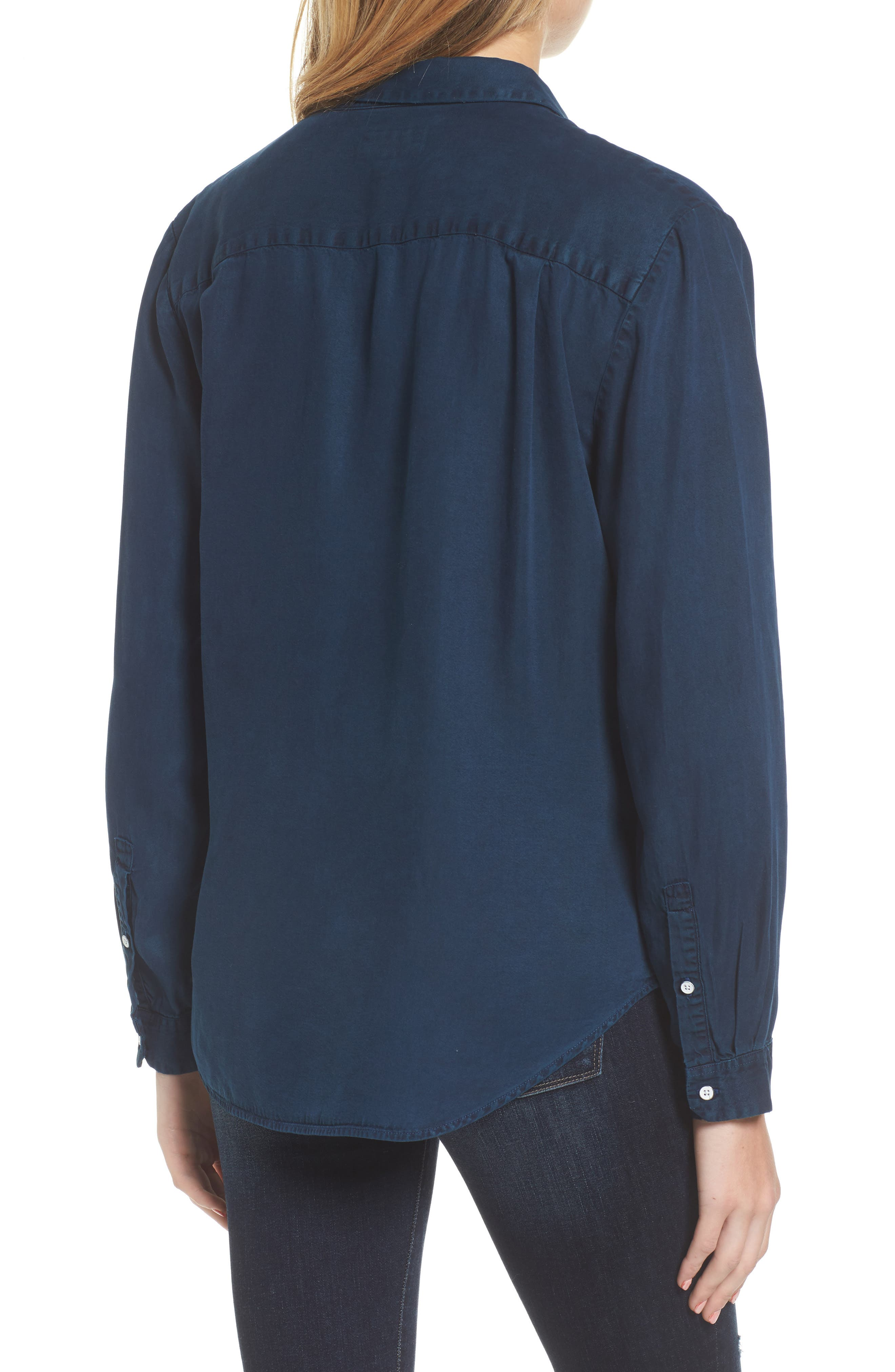 x The Blue Shirt Shop W 4th & Jane Slim Fit Shirt,                             Alternate thumbnail 2, color,                             405