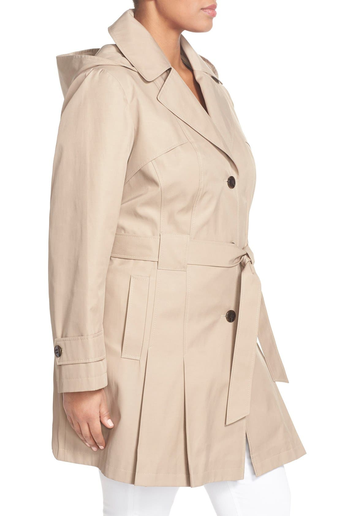 'Scarpa' Single Breasted Trench Coat,                             Alternate thumbnail 14, color,