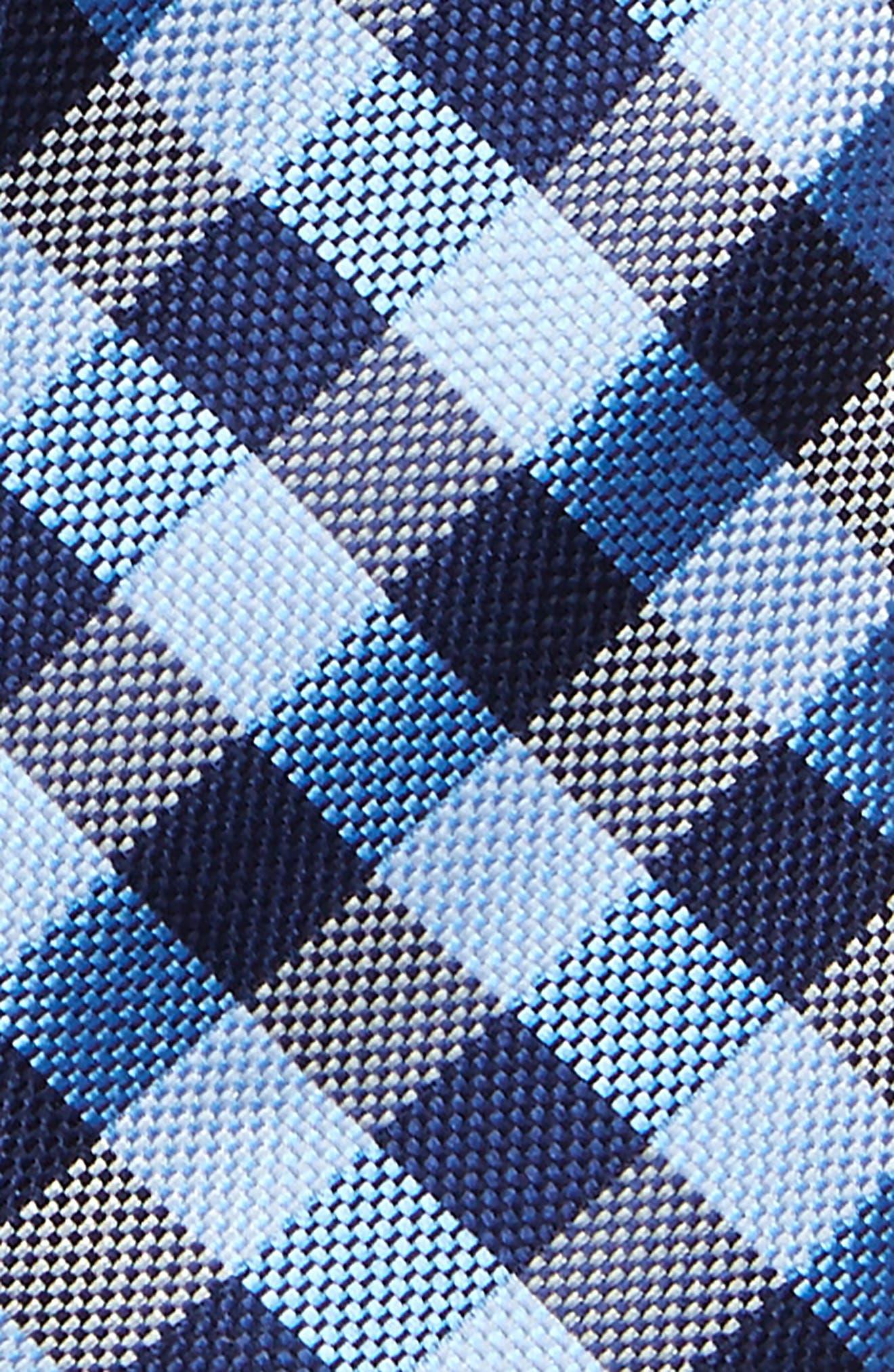 Check Silk Tie,                             Alternate thumbnail 16, color,