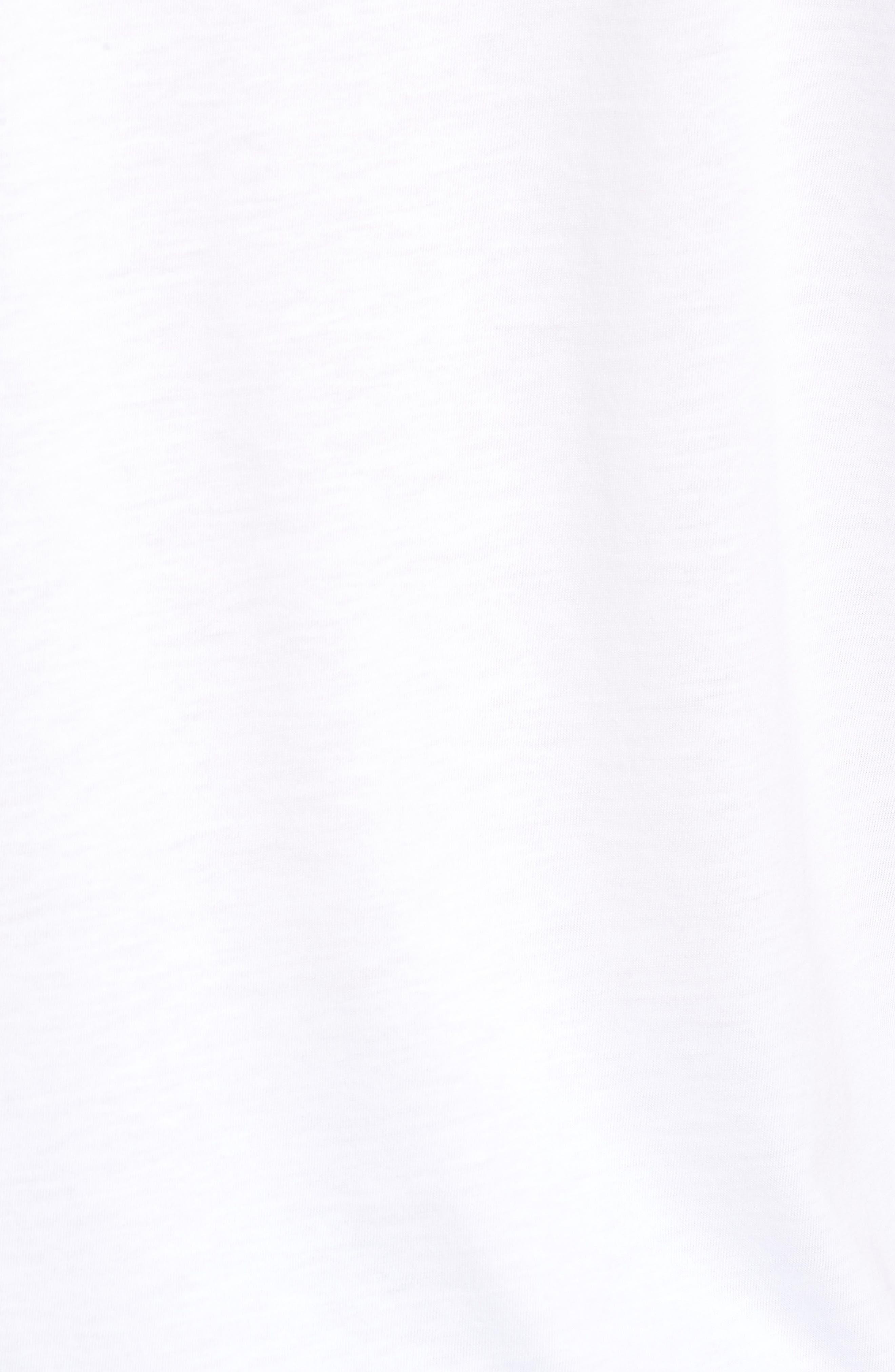 Muska Pocket T-Shirt,                             Alternate thumbnail 5, color,                             100