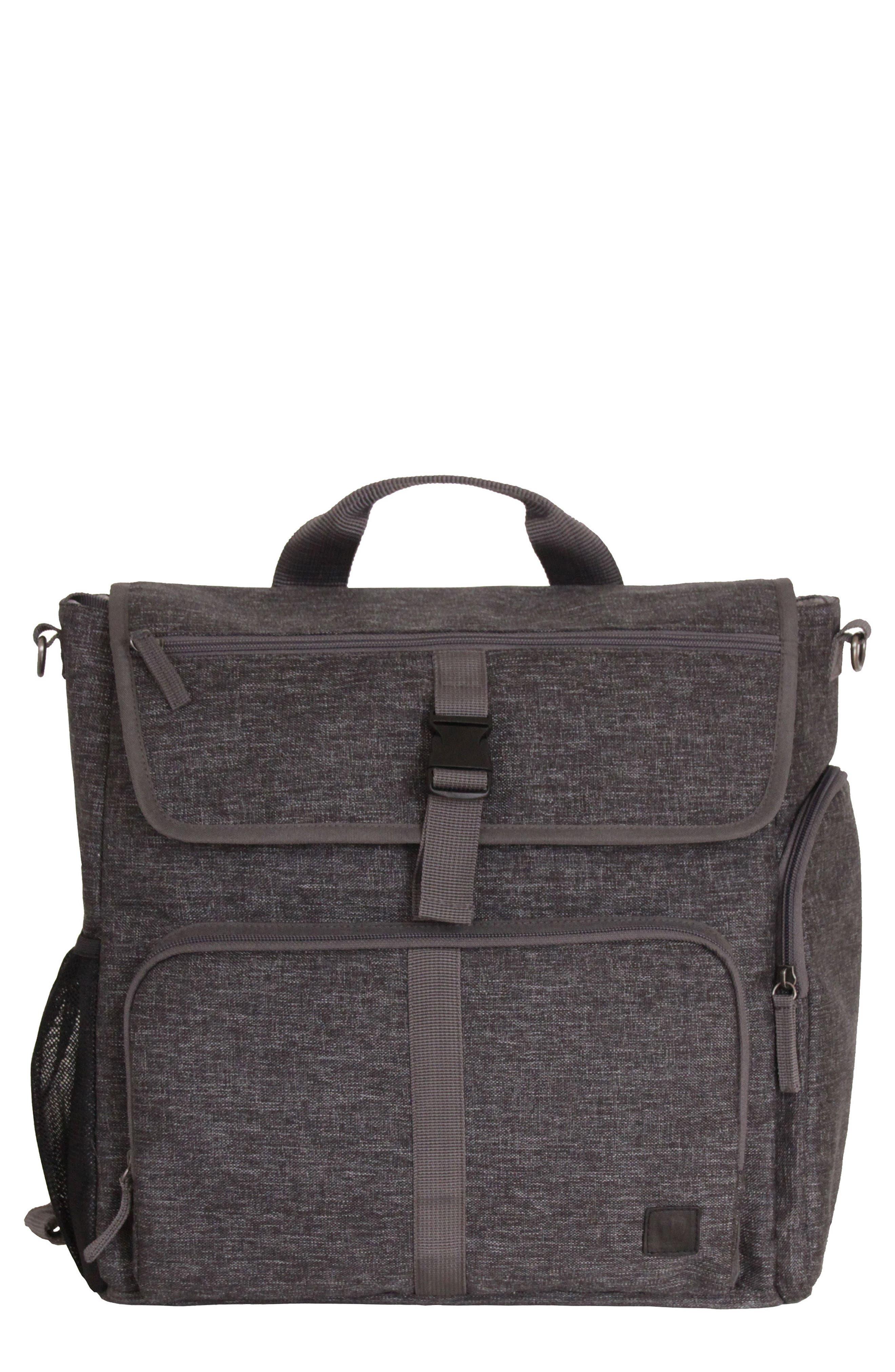 Convertible Diaper Backpack,                         Main,                         color, 001