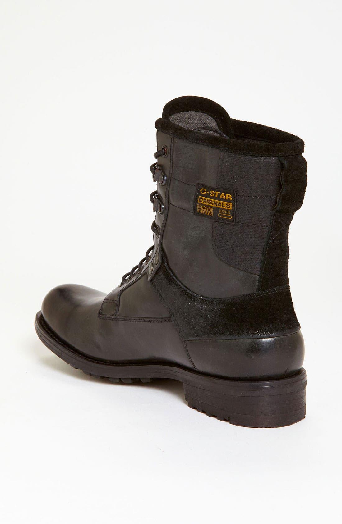 'Patton III Marker' Boot,                             Alternate thumbnail 4, color,                             001