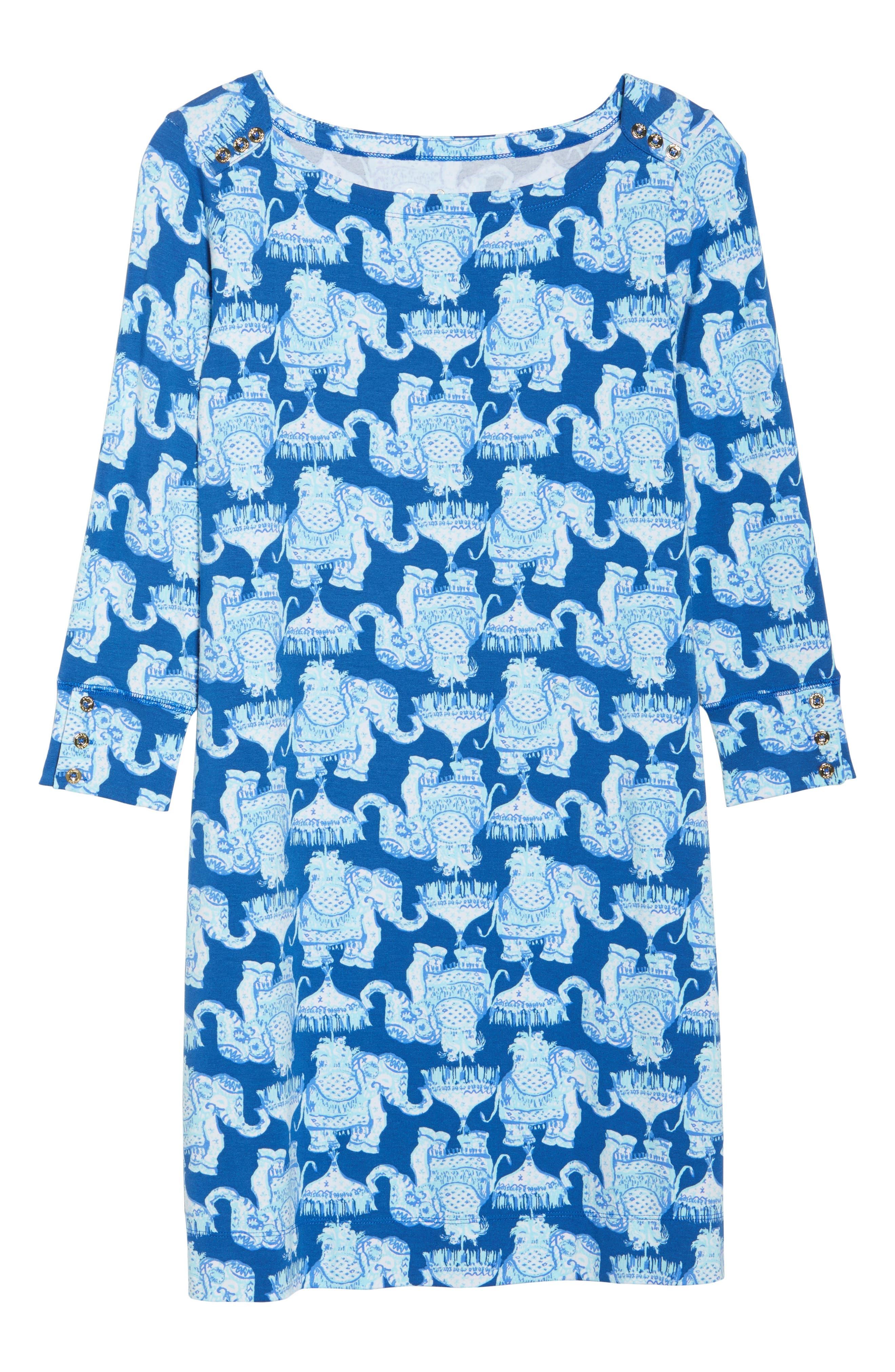 Sophie UPF 50+ Shift Dress,                             Alternate thumbnail 6, color,                             400