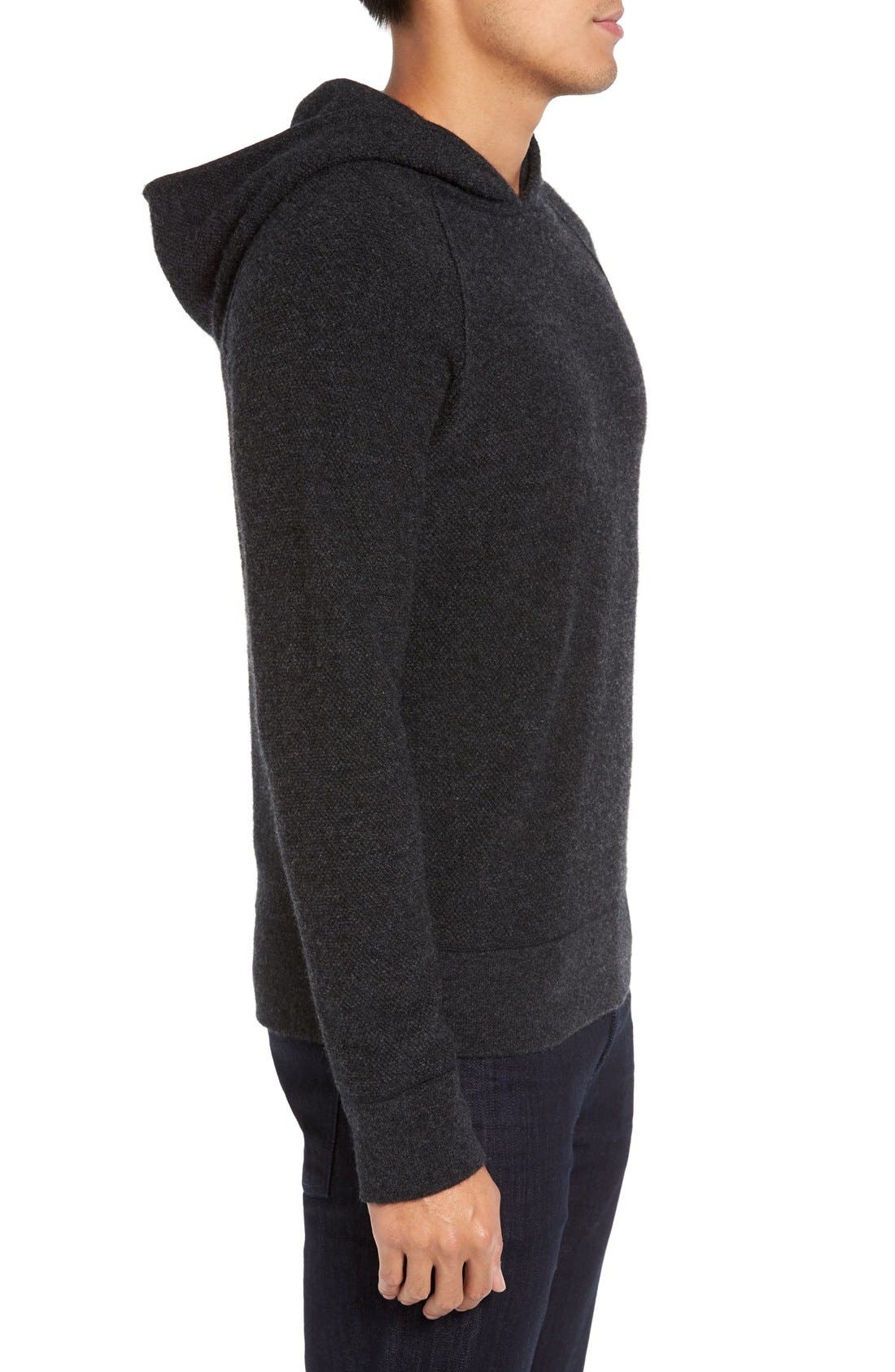 JAMES PERSE,                             Cashmere Hoodie,                             Alternate thumbnail 5, color,                             052