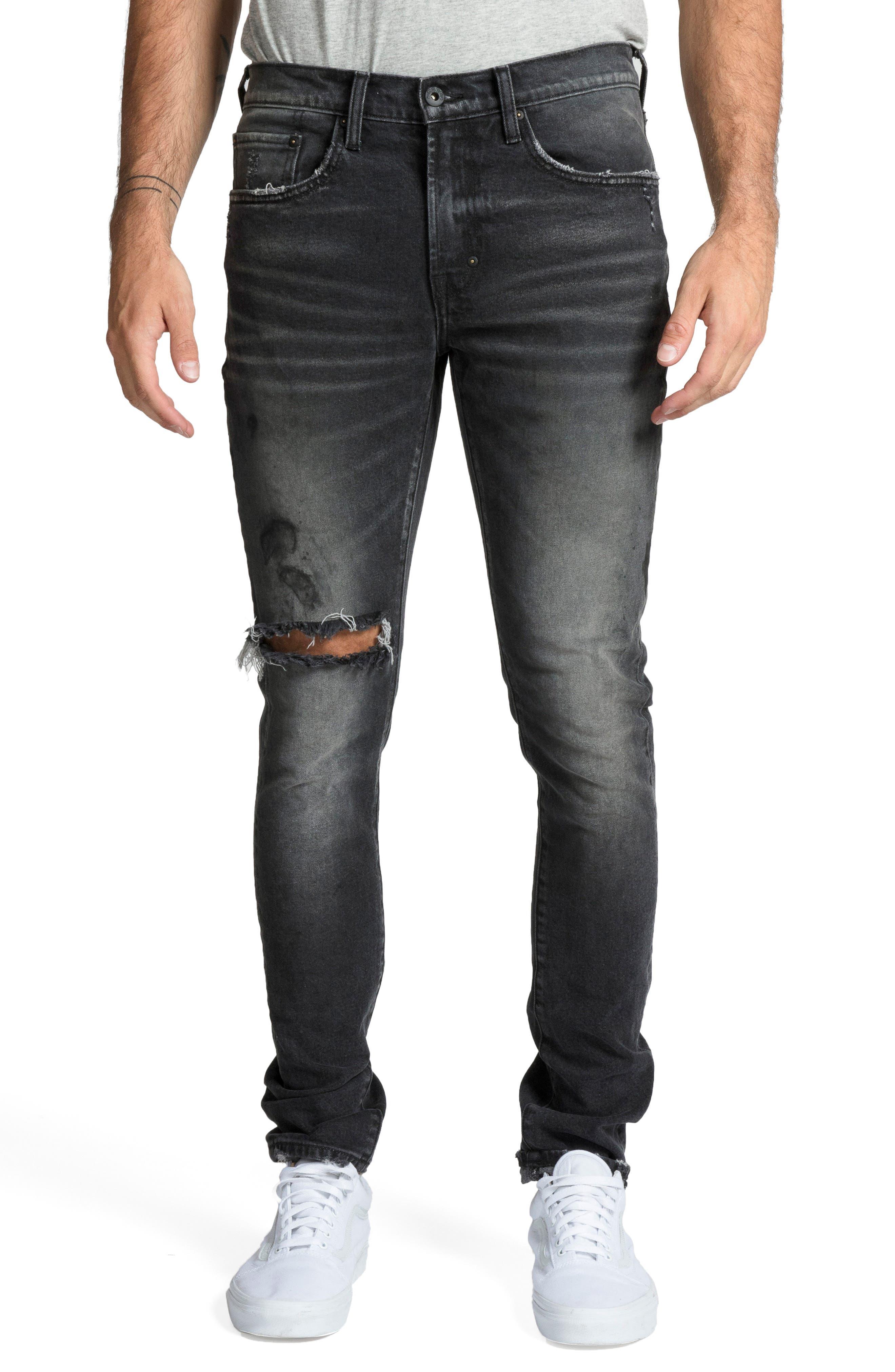 Windsor Skinny Fit Jeans,                             Main thumbnail 1, color,                             RESOLUTE