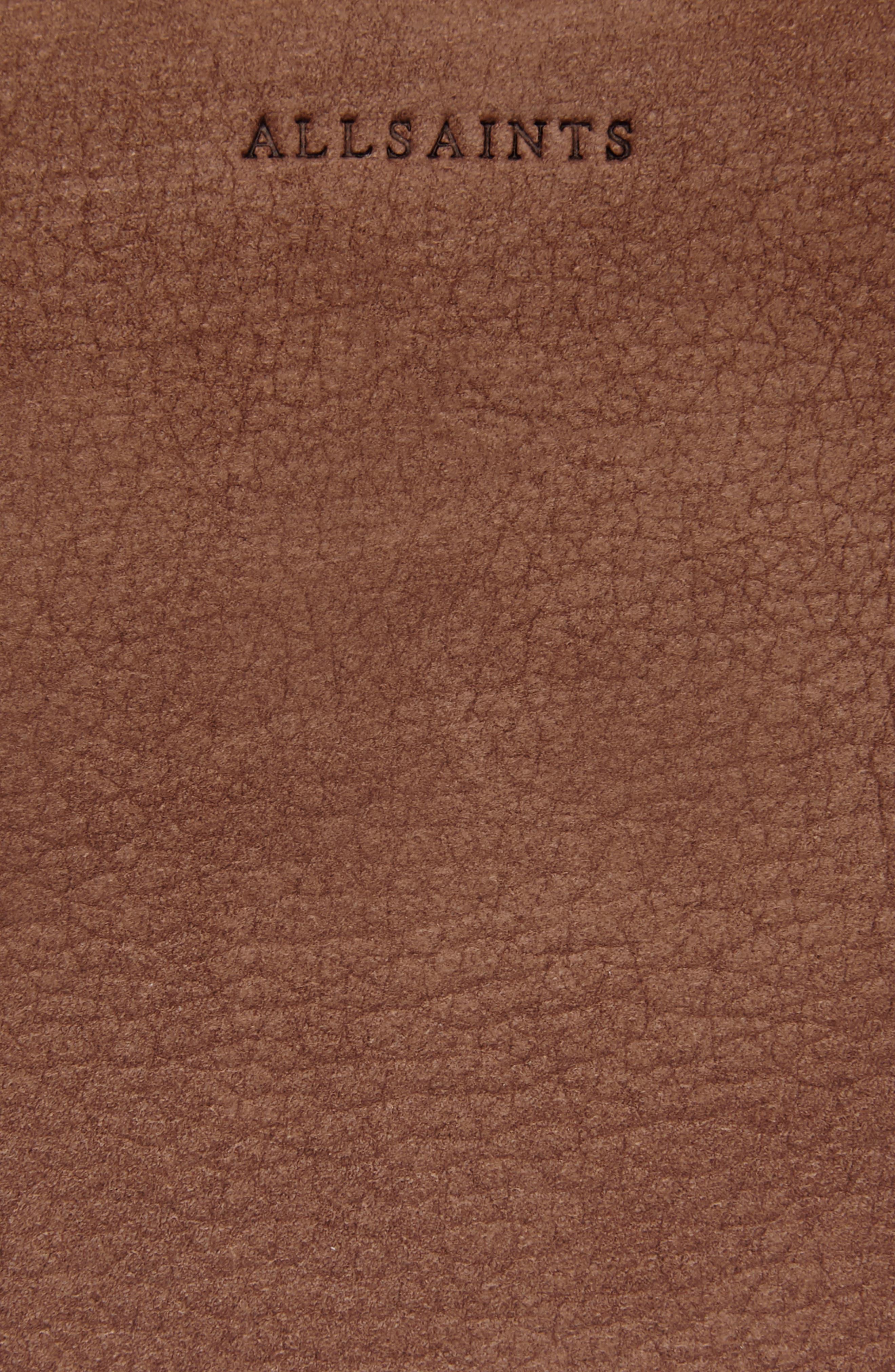 Kepi East/West Leather Shoulder Bag,                             Alternate thumbnail 8, color,                             210