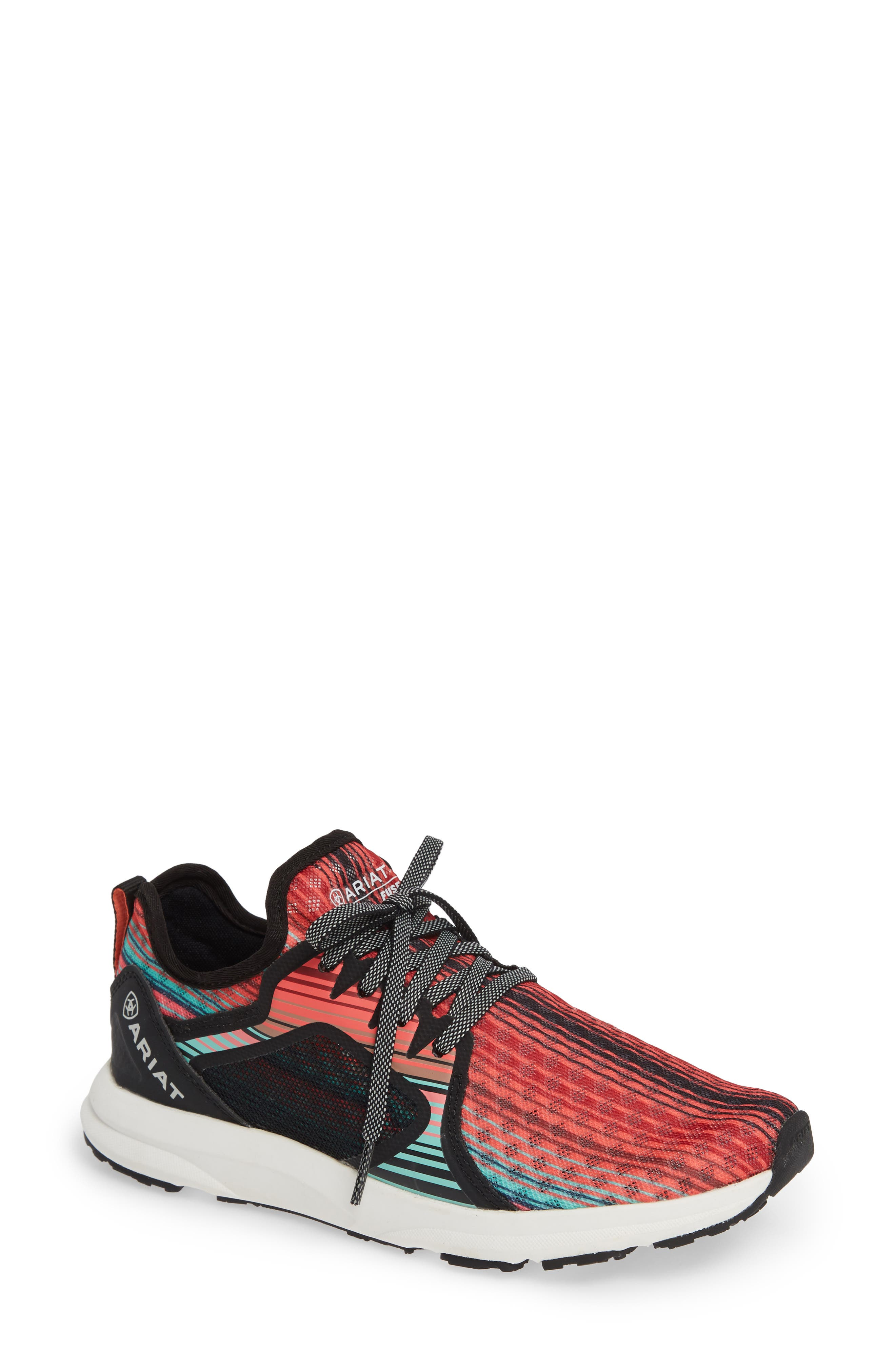 ARIAT Fuse Print Sneaker, Main, color, SOUTHWESTERN FABRIC
