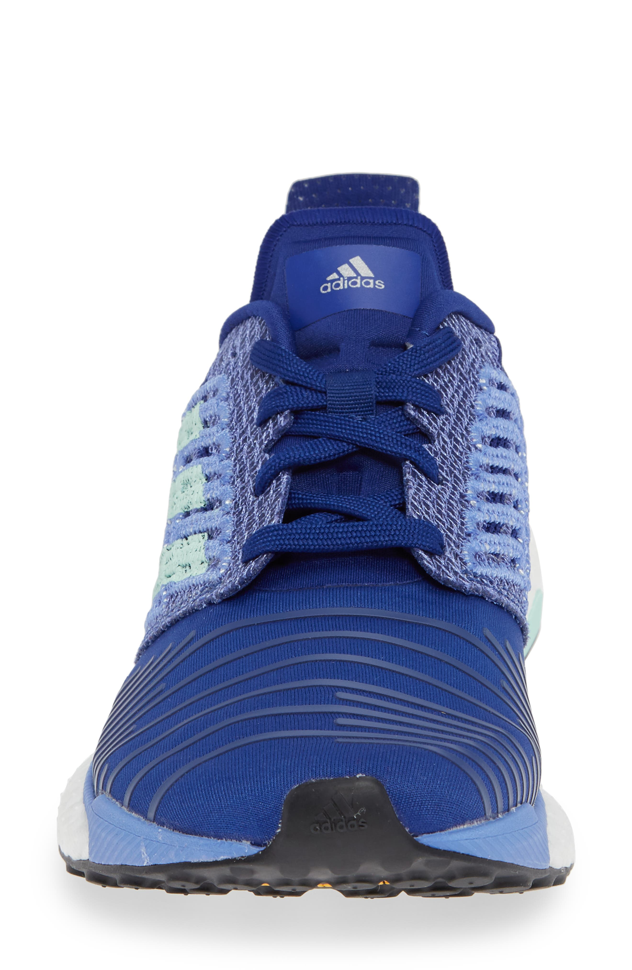 Solarboost Running Shoe,                             Alternate thumbnail 4, color,                             MYSTERY INK/ CLEAR MINT/ LILAC