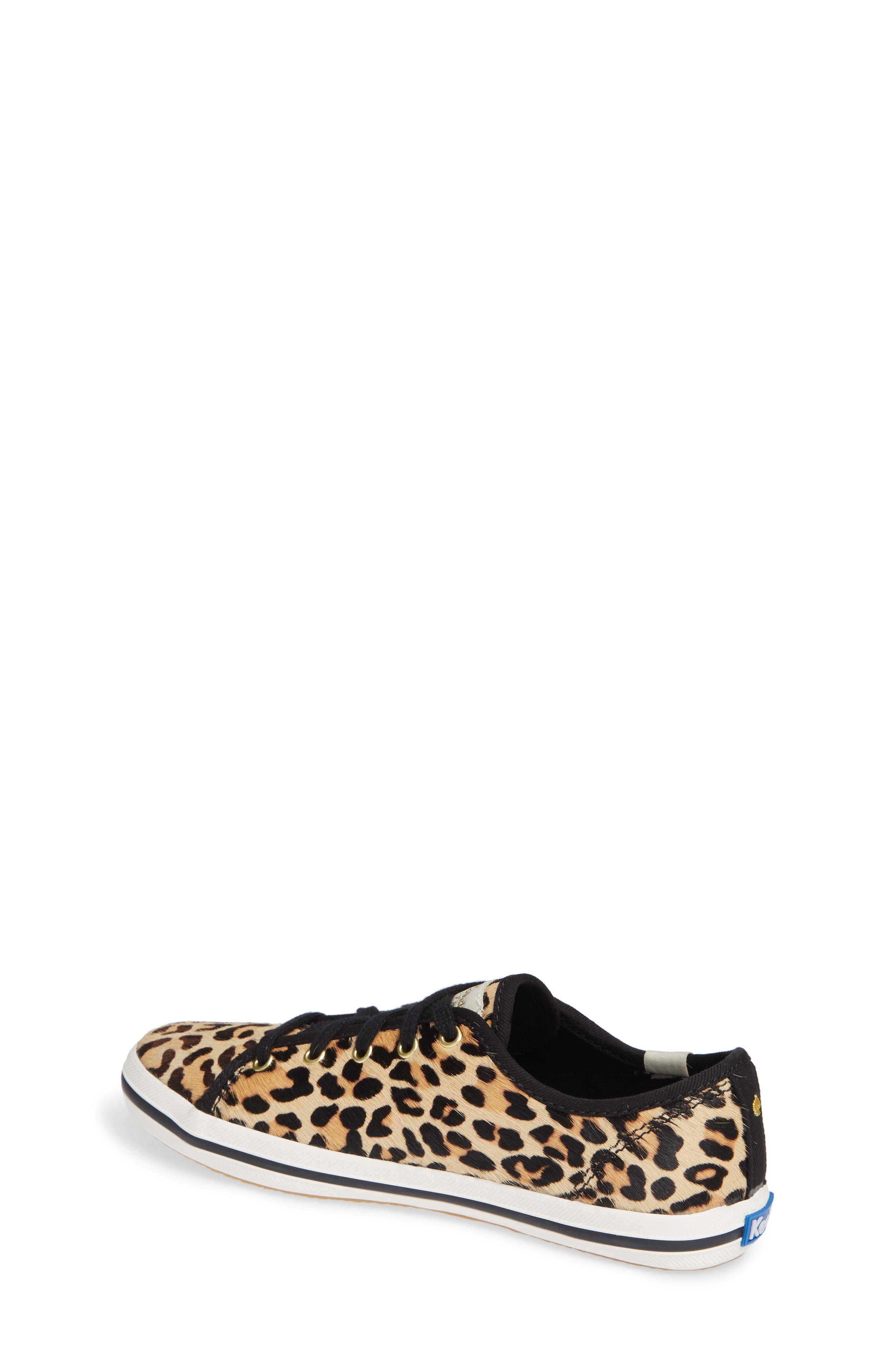 for kate spade new york kickstart genuine calf hair sneaker,                             Alternate thumbnail 2, color,                             PRINTED PONY