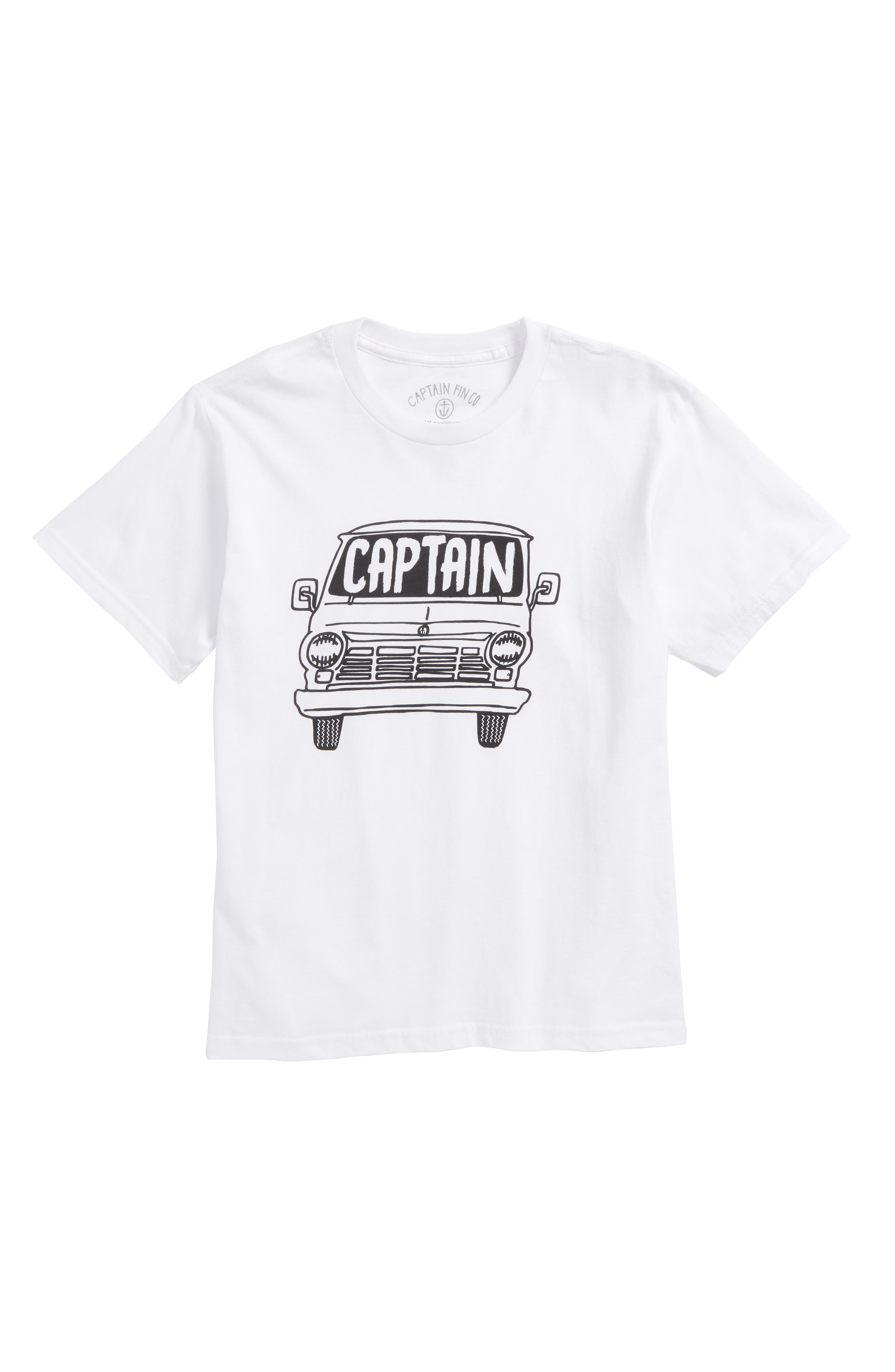 Van Graphic T-Shirt,                             Main thumbnail 1, color,                             100