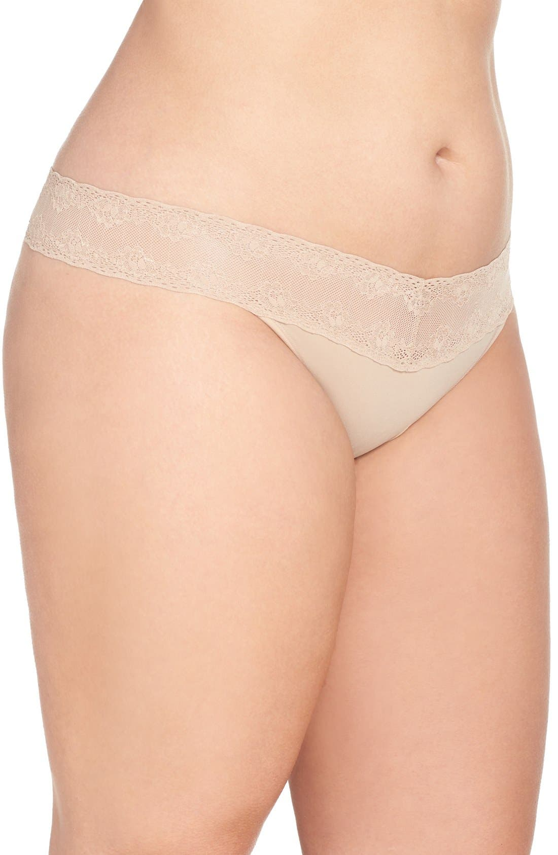 Bliss Perfection Thong,                             Alternate thumbnail 3, color,                             250