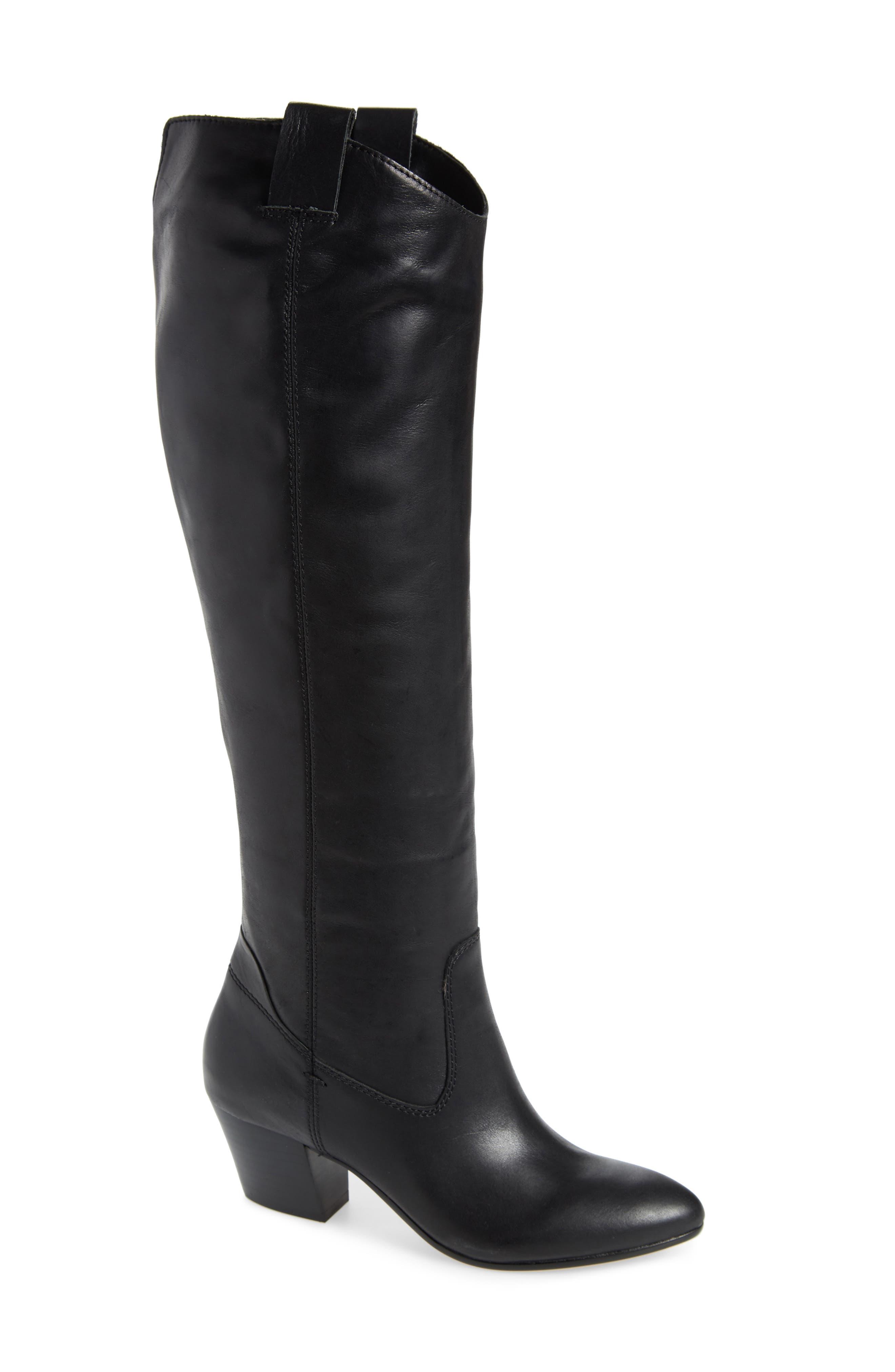 Dolce Vita Hinley Knee High Boot, Black