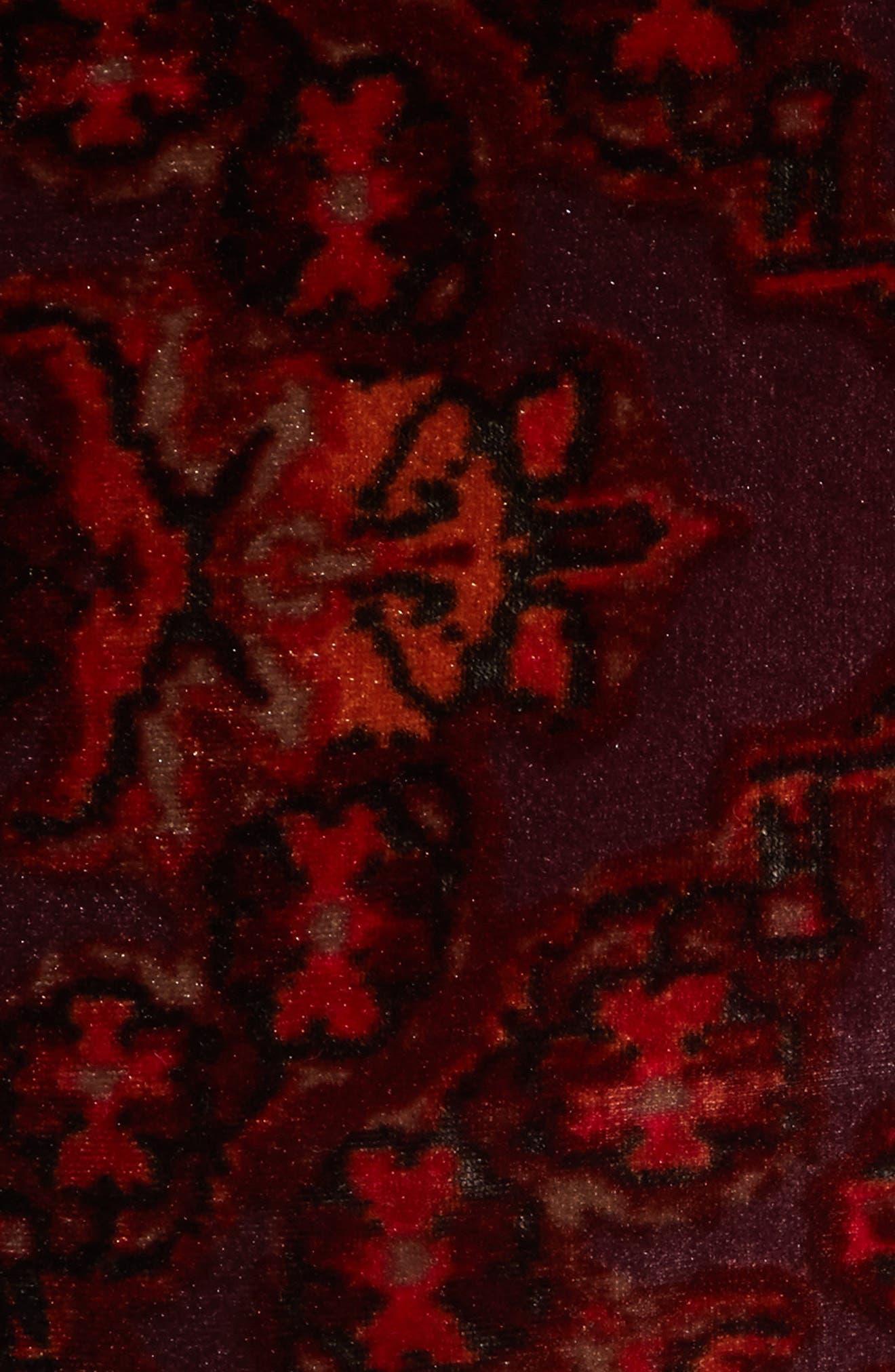 Lovin Feeling Velvet Wide Leg Pants,                             Alternate thumbnail 5, color,                             600