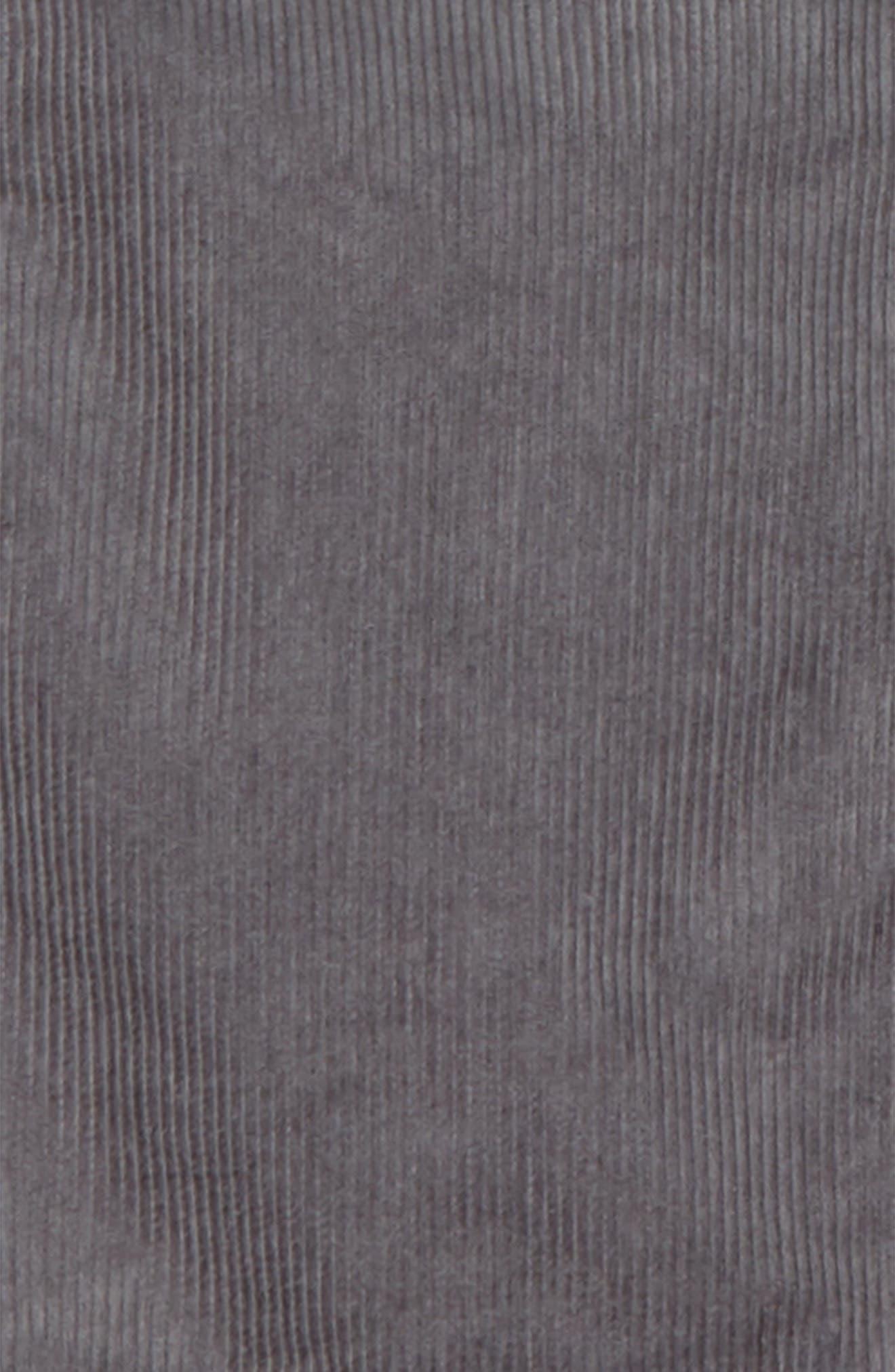 Easy Corduroy Pants,                             Alternate thumbnail 2, color,                             SHARKFIN