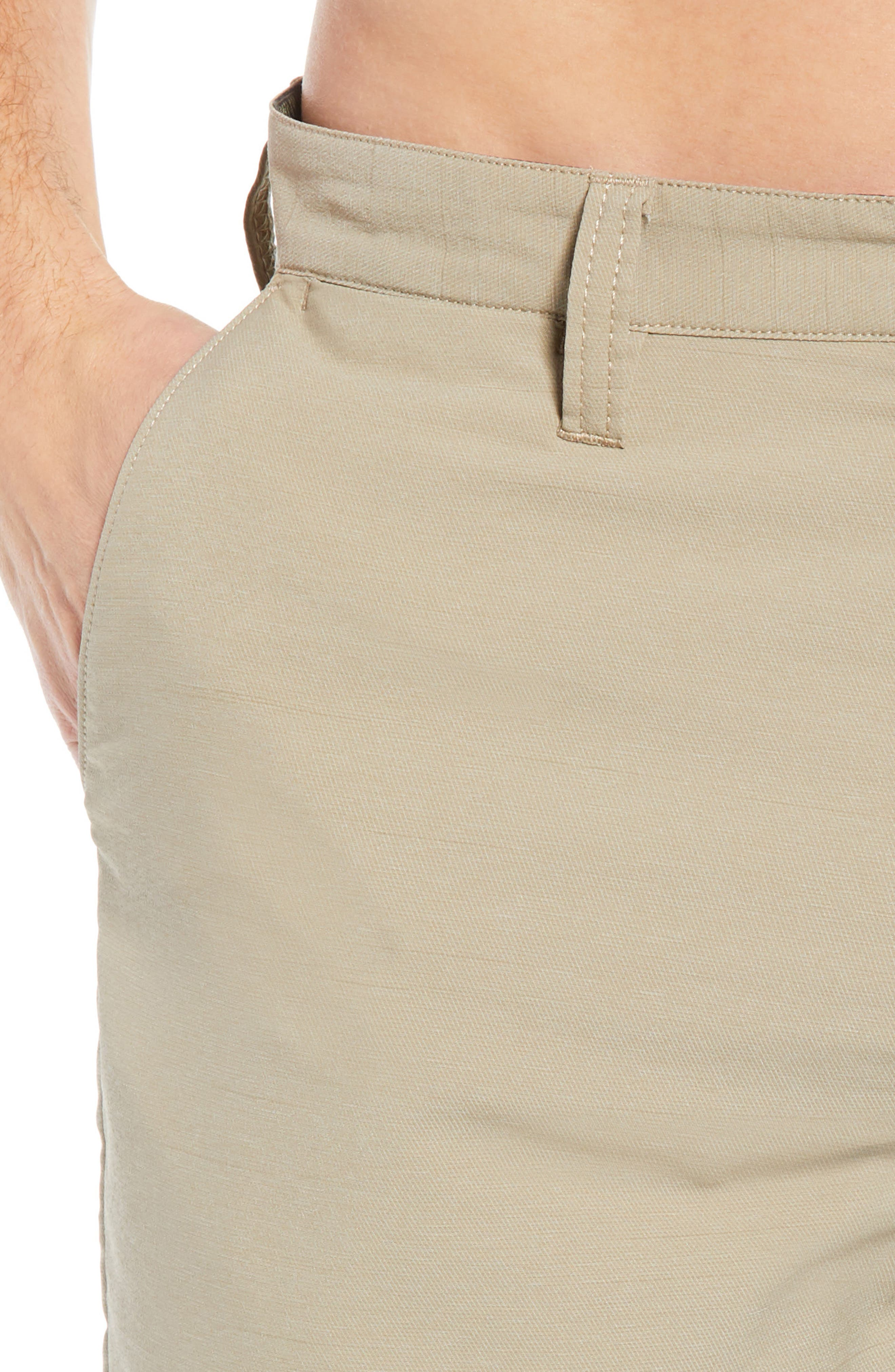 Surfreak Hybrid Shorts,                             Alternate thumbnail 4, color,                             KHAKI