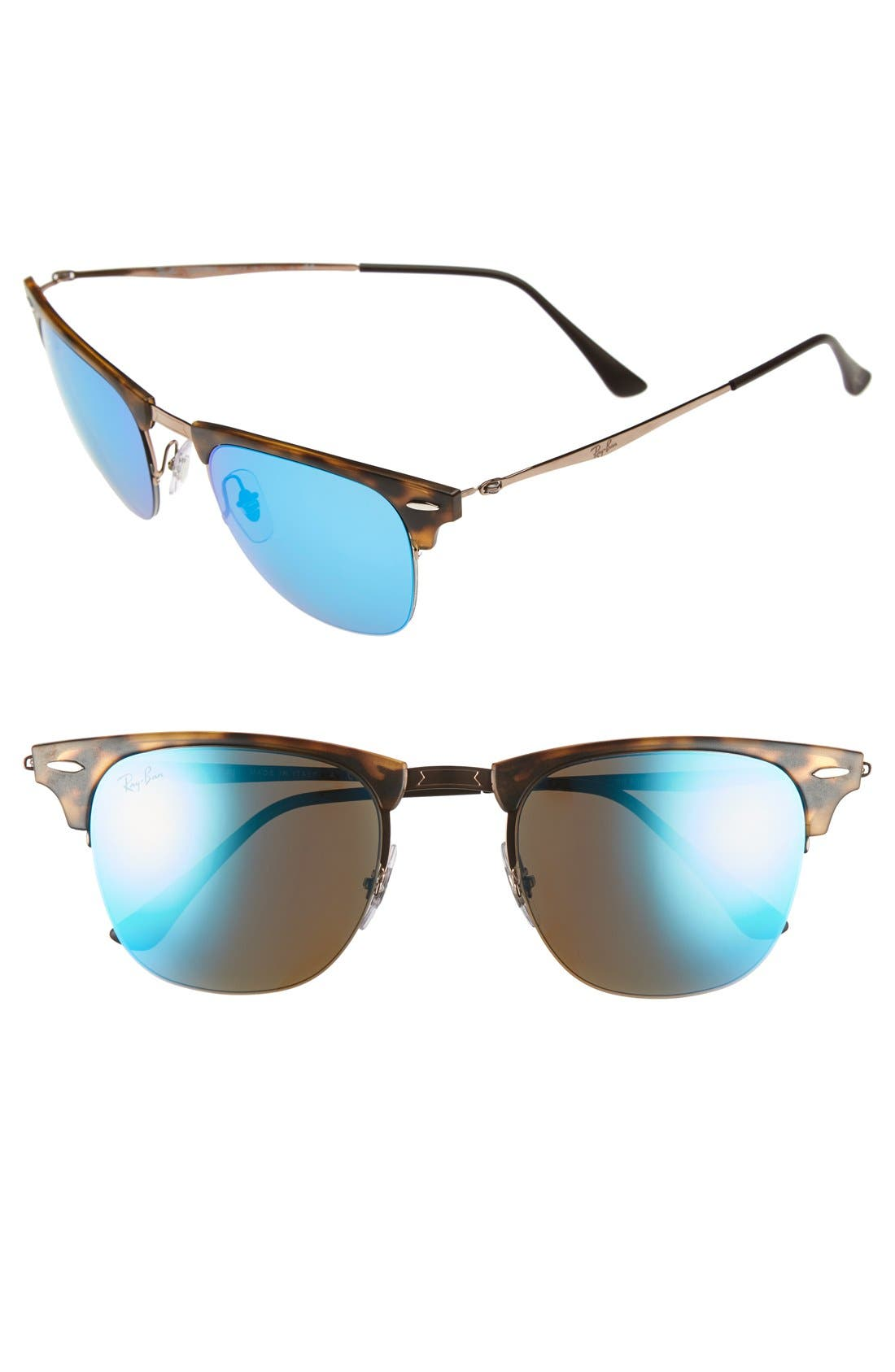 'Clubmaster' 51mm Sunglasses,                             Main thumbnail 3, color,