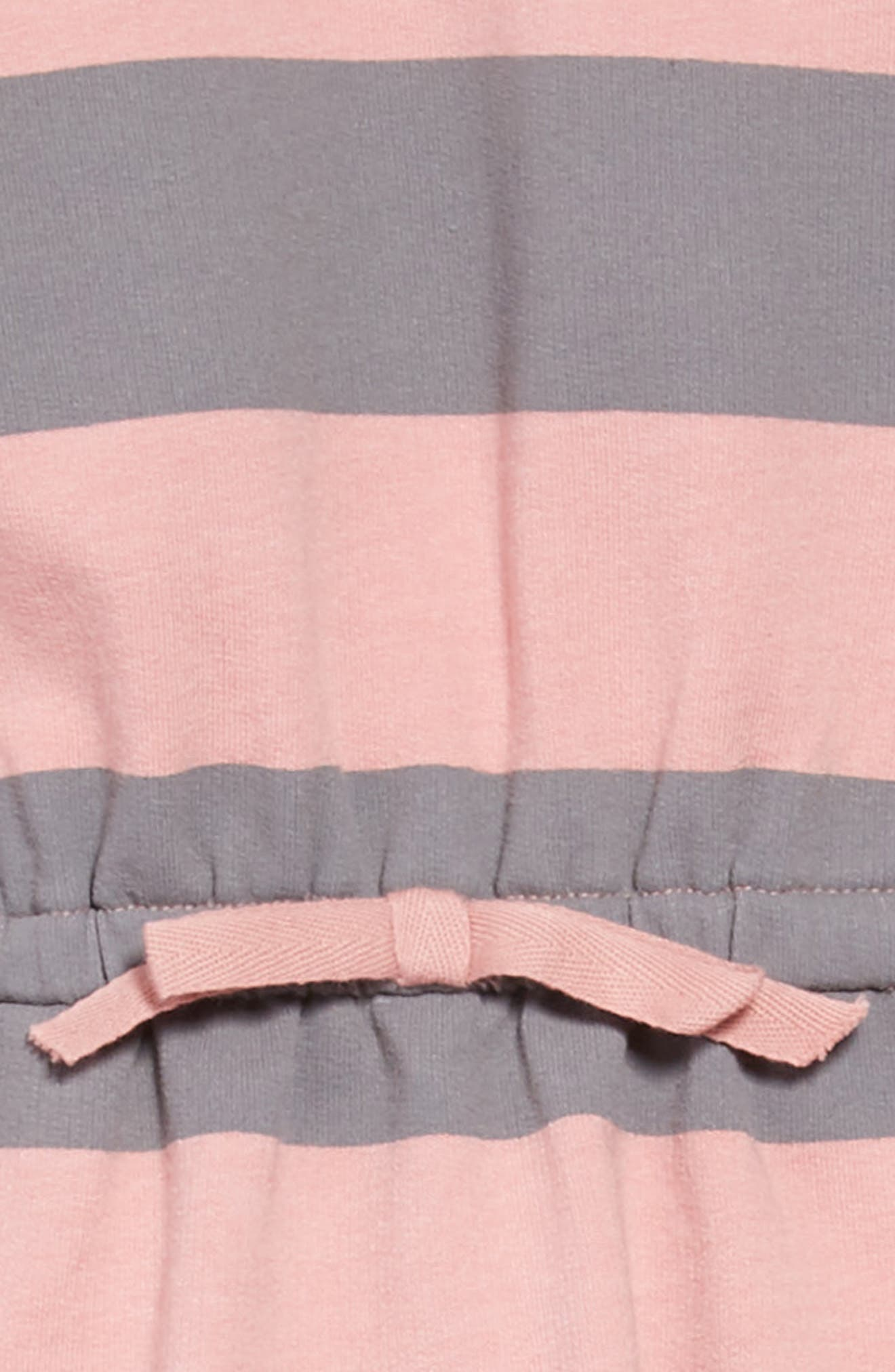 Ruby Sweatshirt Dress,                             Alternate thumbnail 3, color,                             PINK
