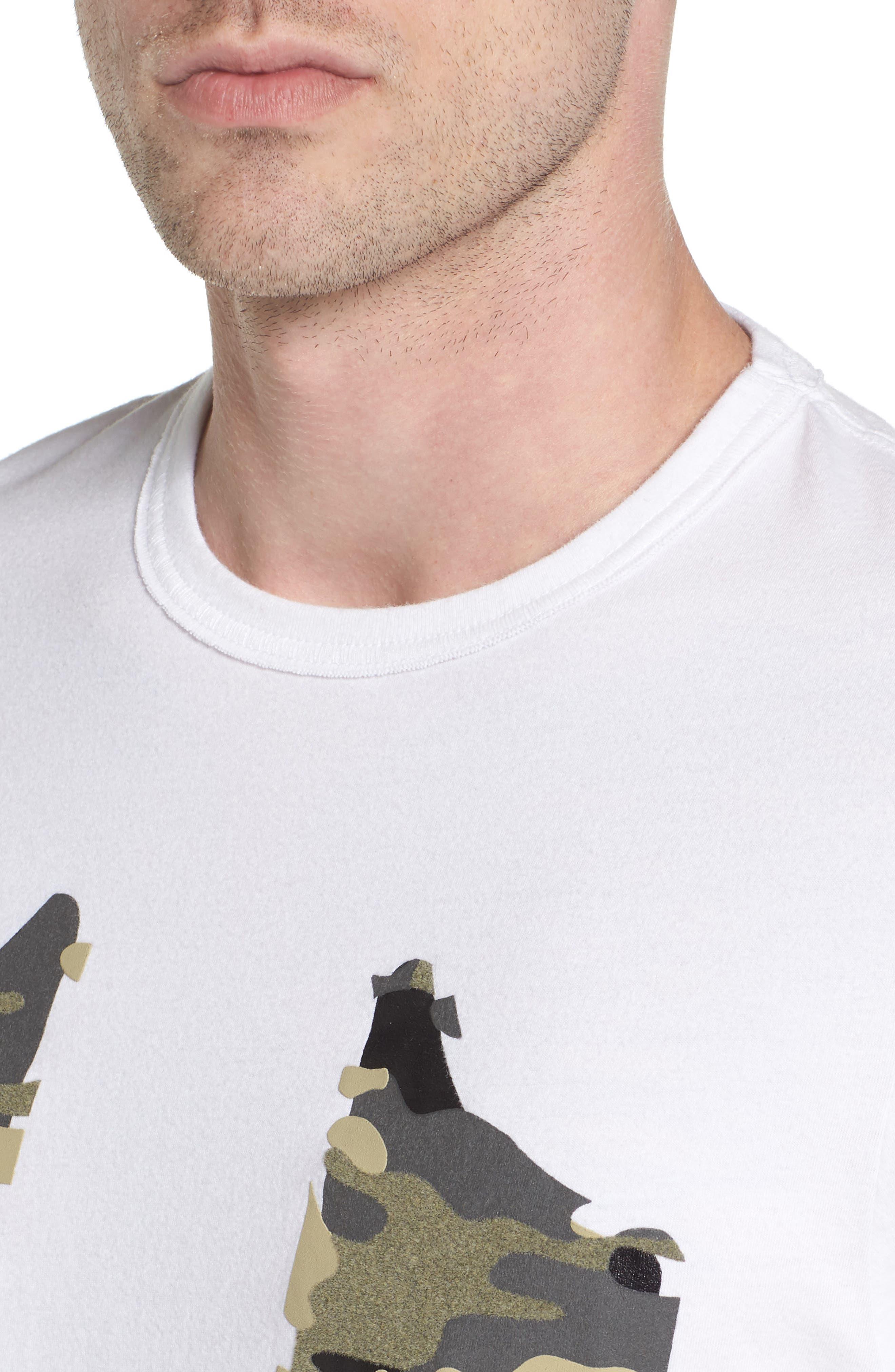 3D Camo Graphic T-Shirt,                             Alternate thumbnail 4, color,