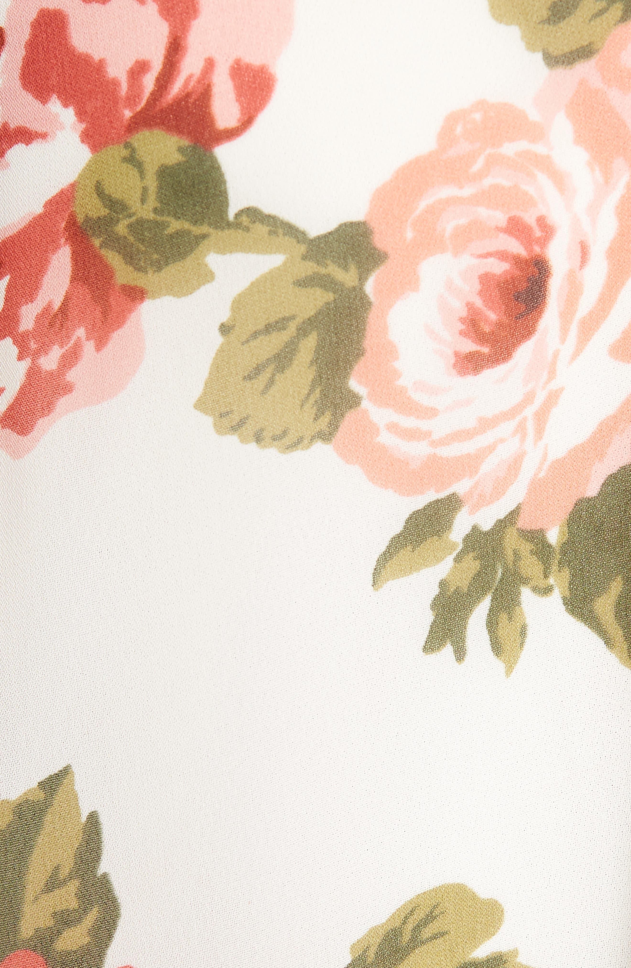 Birdie Shift Dress,                             Alternate thumbnail 5, color,                             160