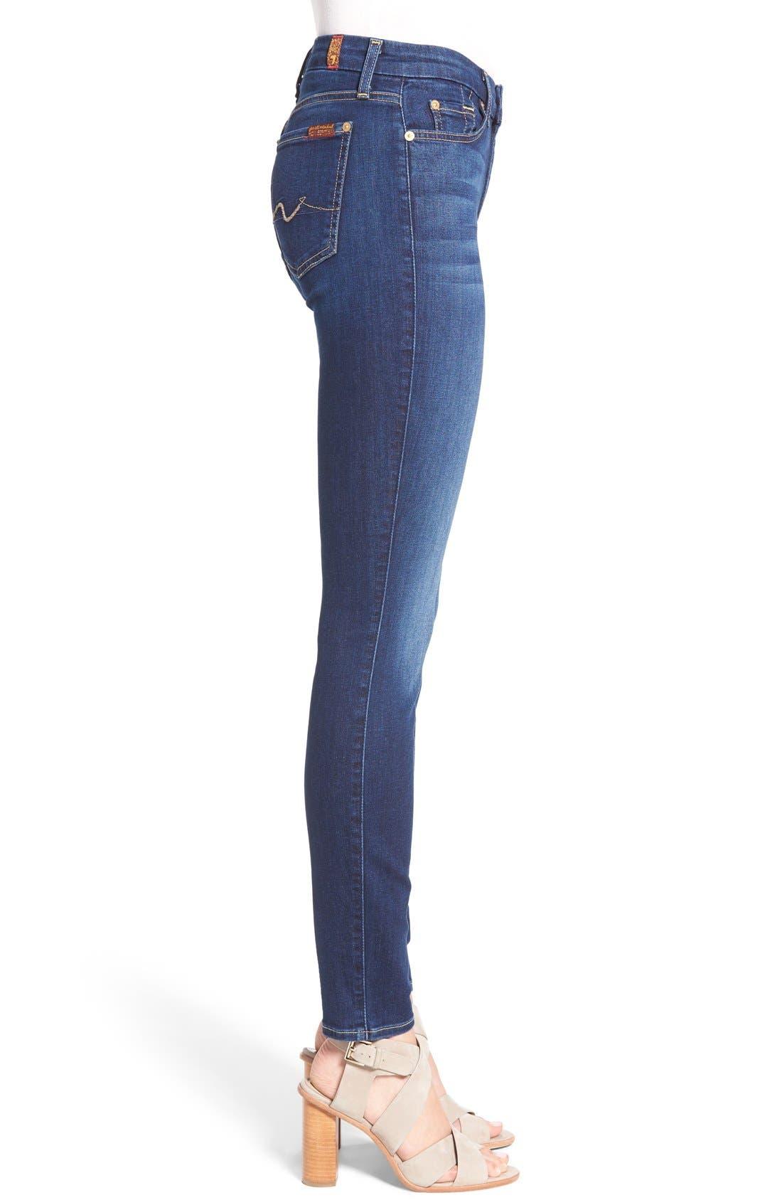 b(air) Skinny Jeans,                             Alternate thumbnail 5, color,                             400