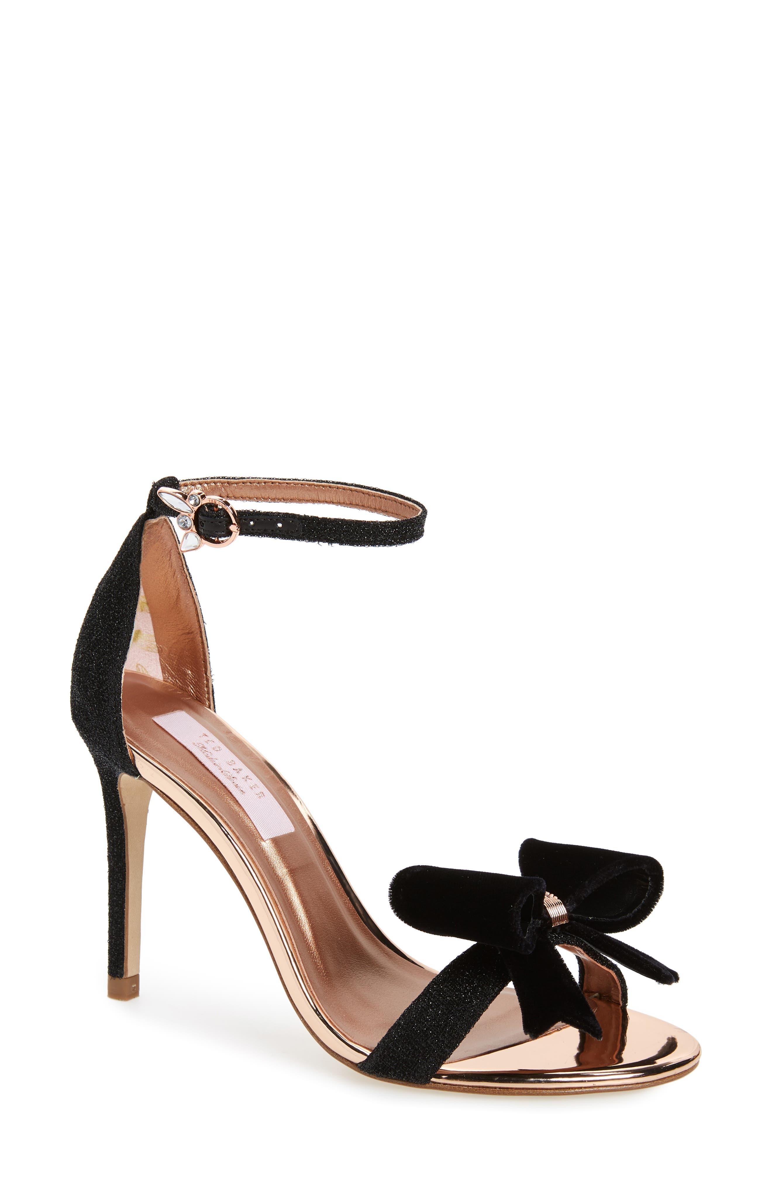 Bowdalo Sandal,                         Main,                         color, BLACK