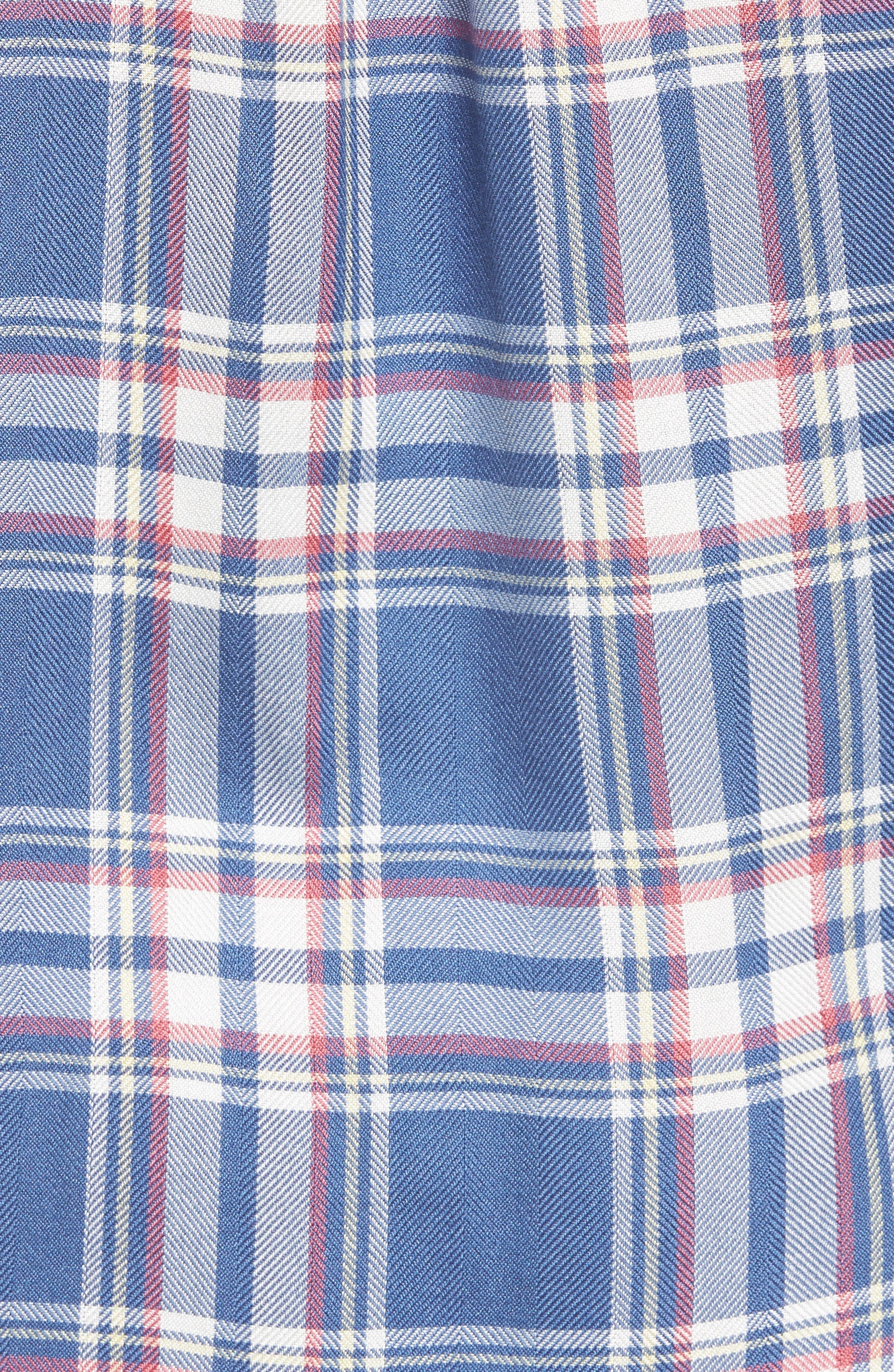 Hunter Plaid Shirt,                             Alternate thumbnail 600, color,