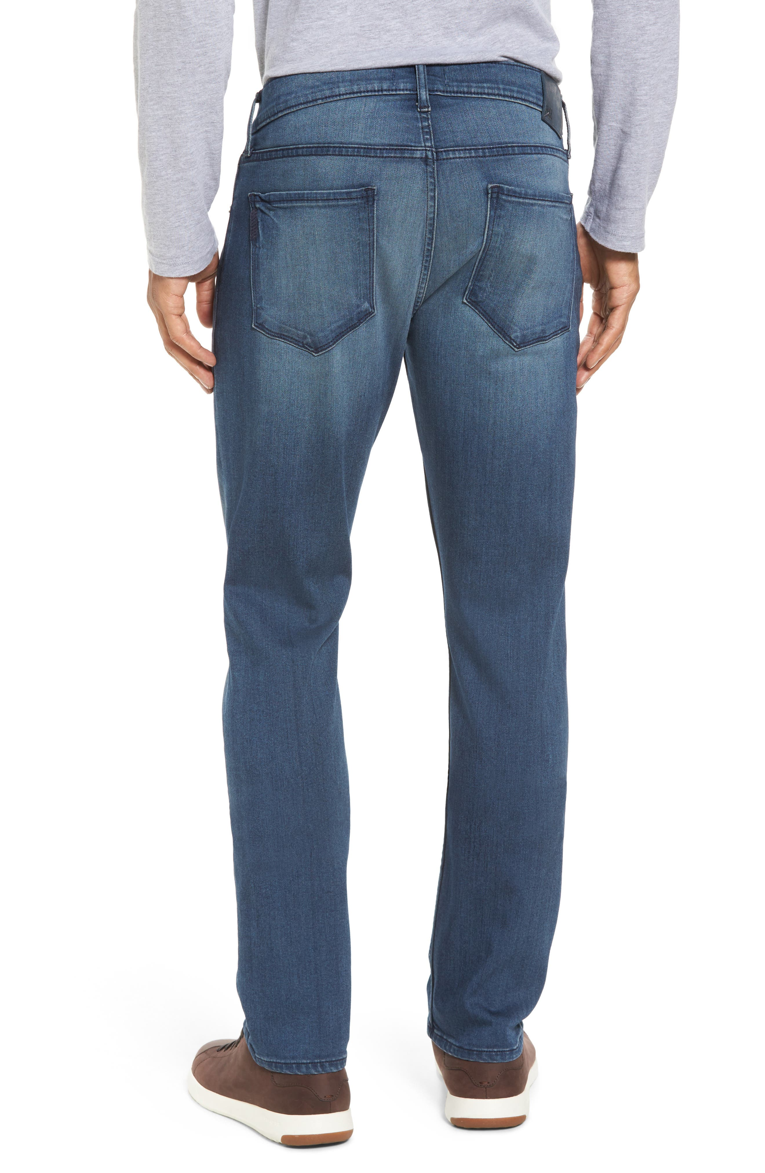 Transcend - Federal Slim Straight Fit Jeans,                             Alternate thumbnail 2, color,                             400