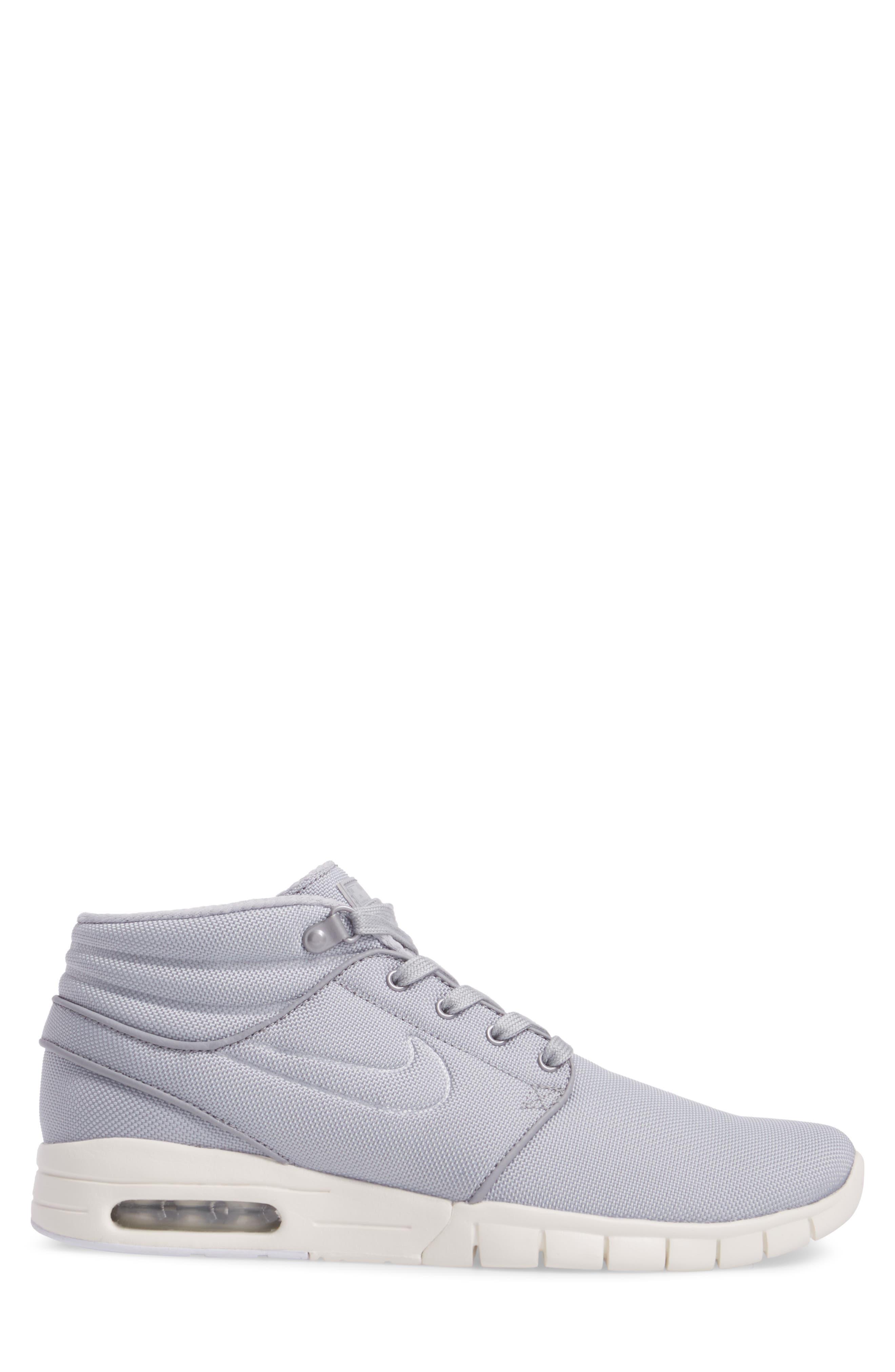 SB Stefan Janoski Max Mid Skate Shoe,                             Alternate thumbnail 31, color,