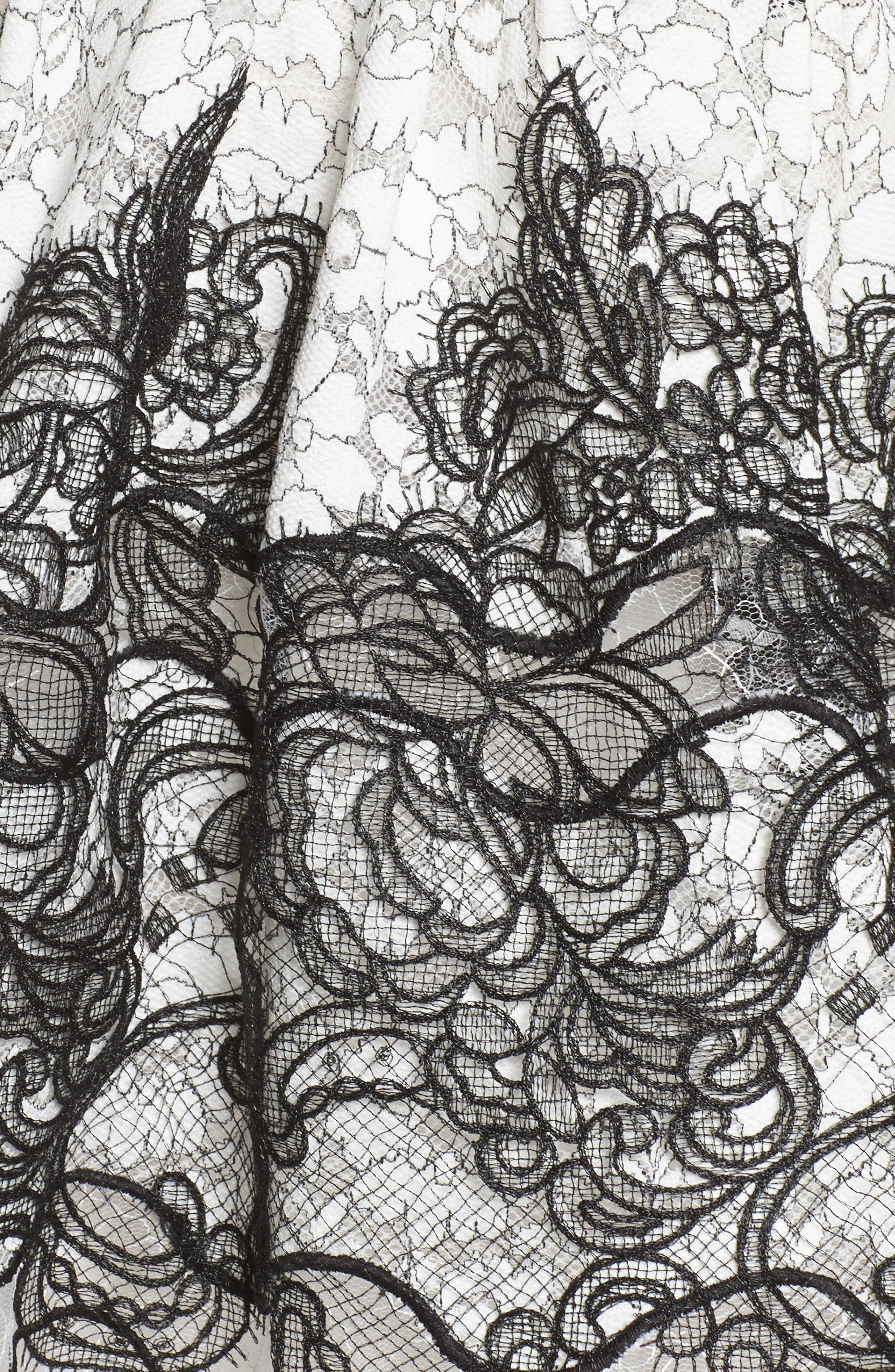 Orchid Cap Sleeve Lace Dress,                             Alternate thumbnail 5, color,                             001