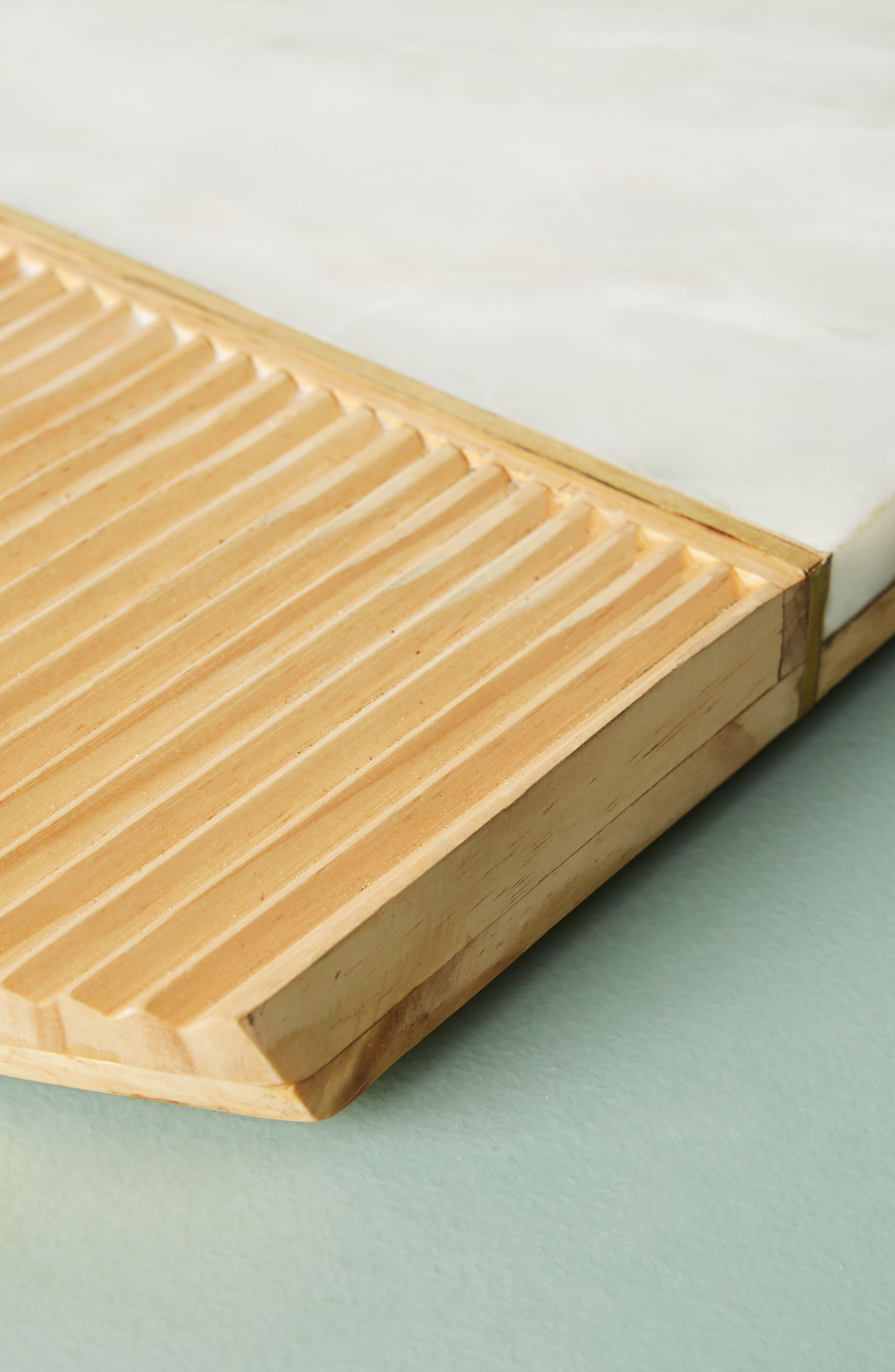 Karala Pinewood & Marble Cheese Board,                             Alternate thumbnail 2, color,                             100