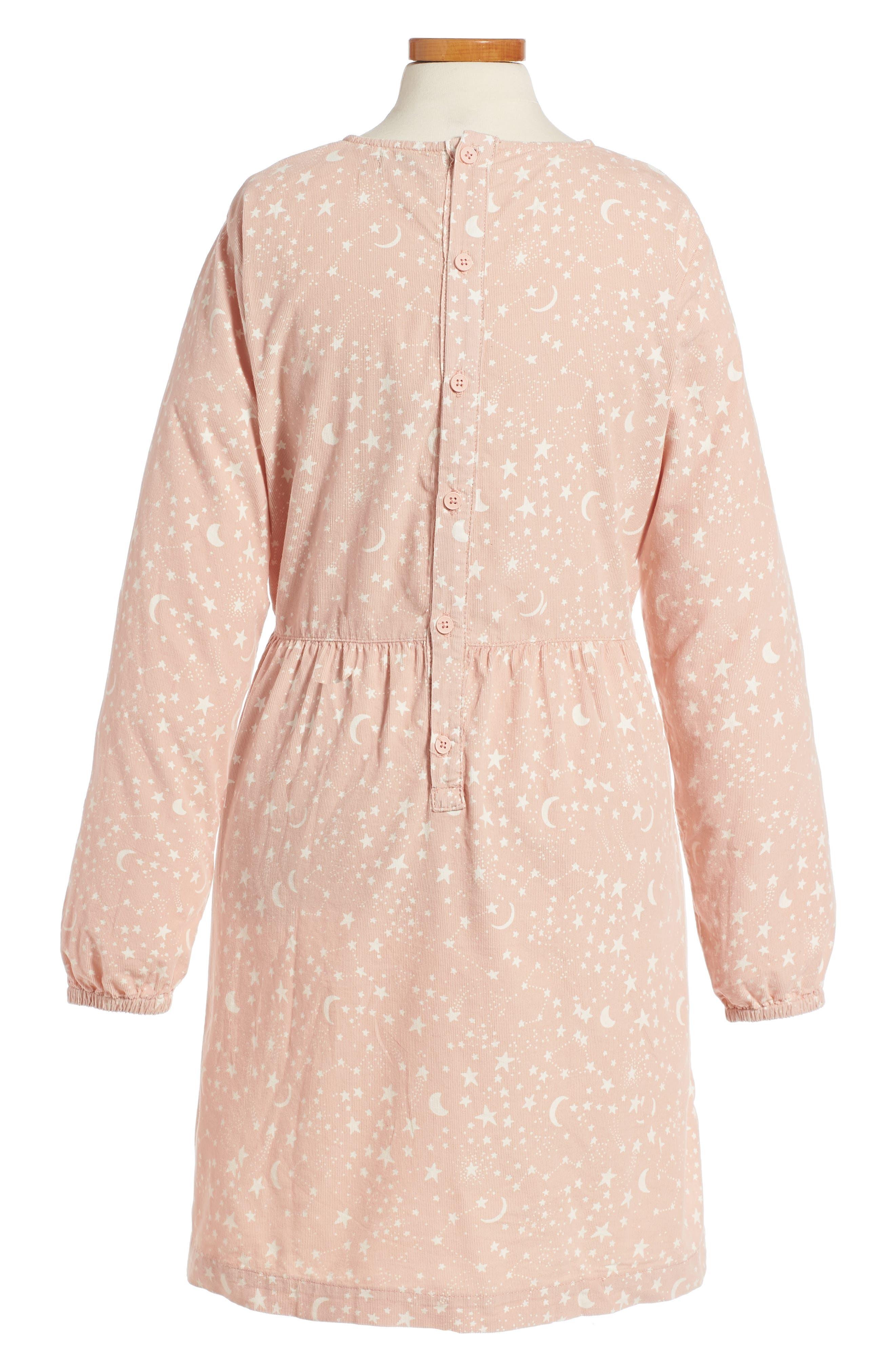Kids Skippy Star Print Dress,                             Alternate thumbnail 2, color,                             650
