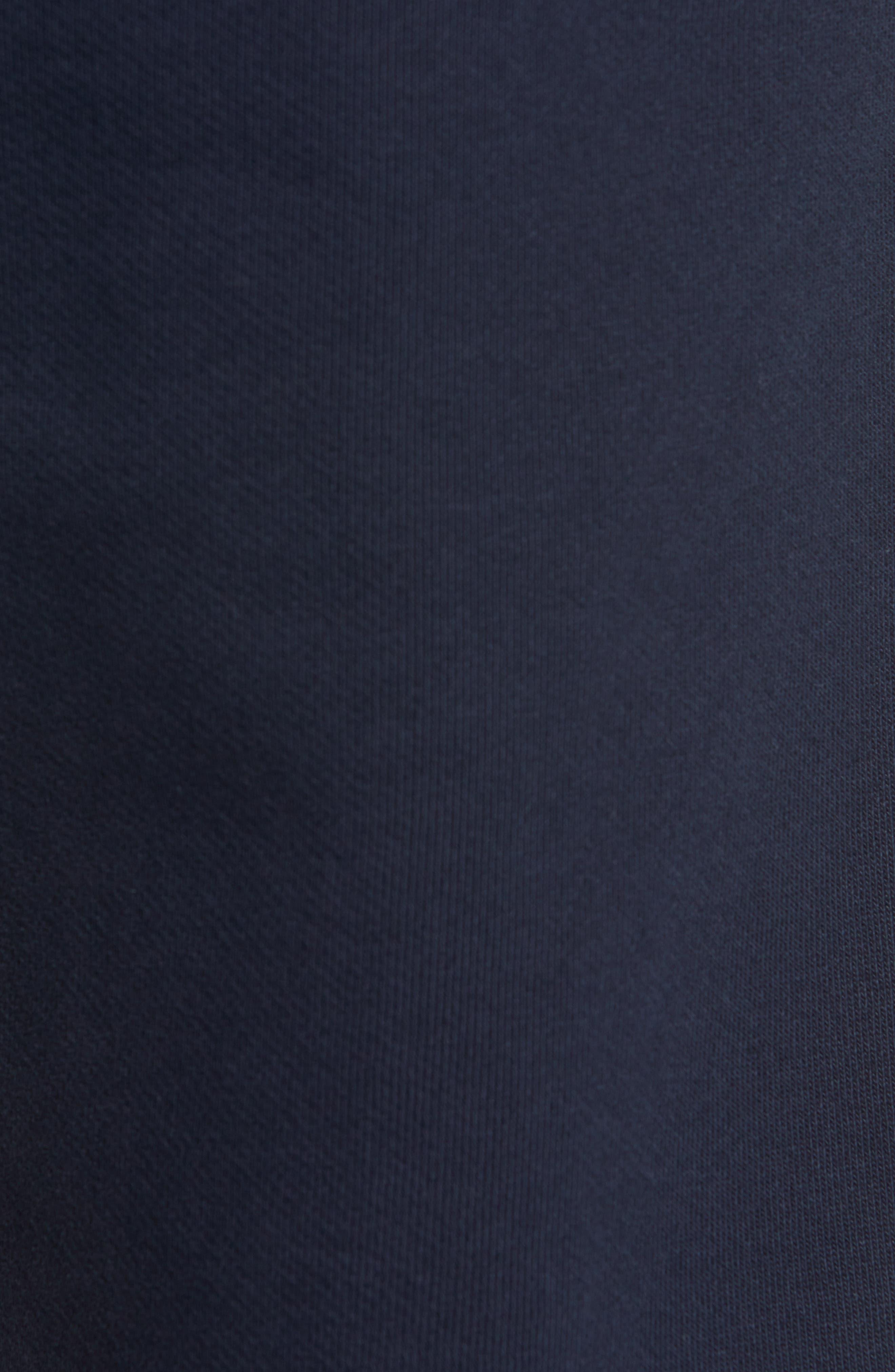 Embroidered Crest Sweatpants,                             Alternate thumbnail 5, color,                             DARK SAPPHIRE