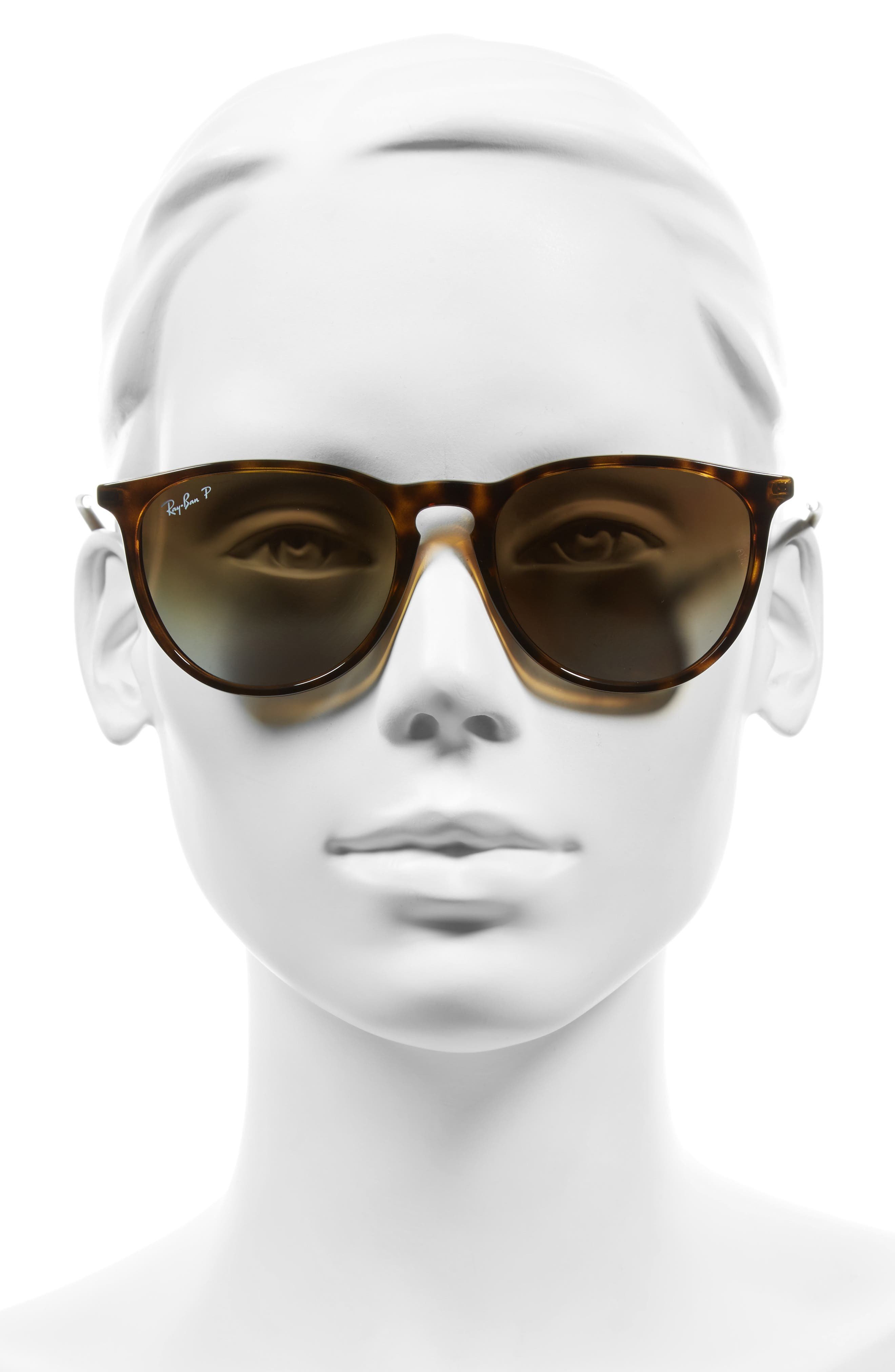 Erika Classic 54mm Sunglasses,                             Alternate thumbnail 3, color,                             HAVANA